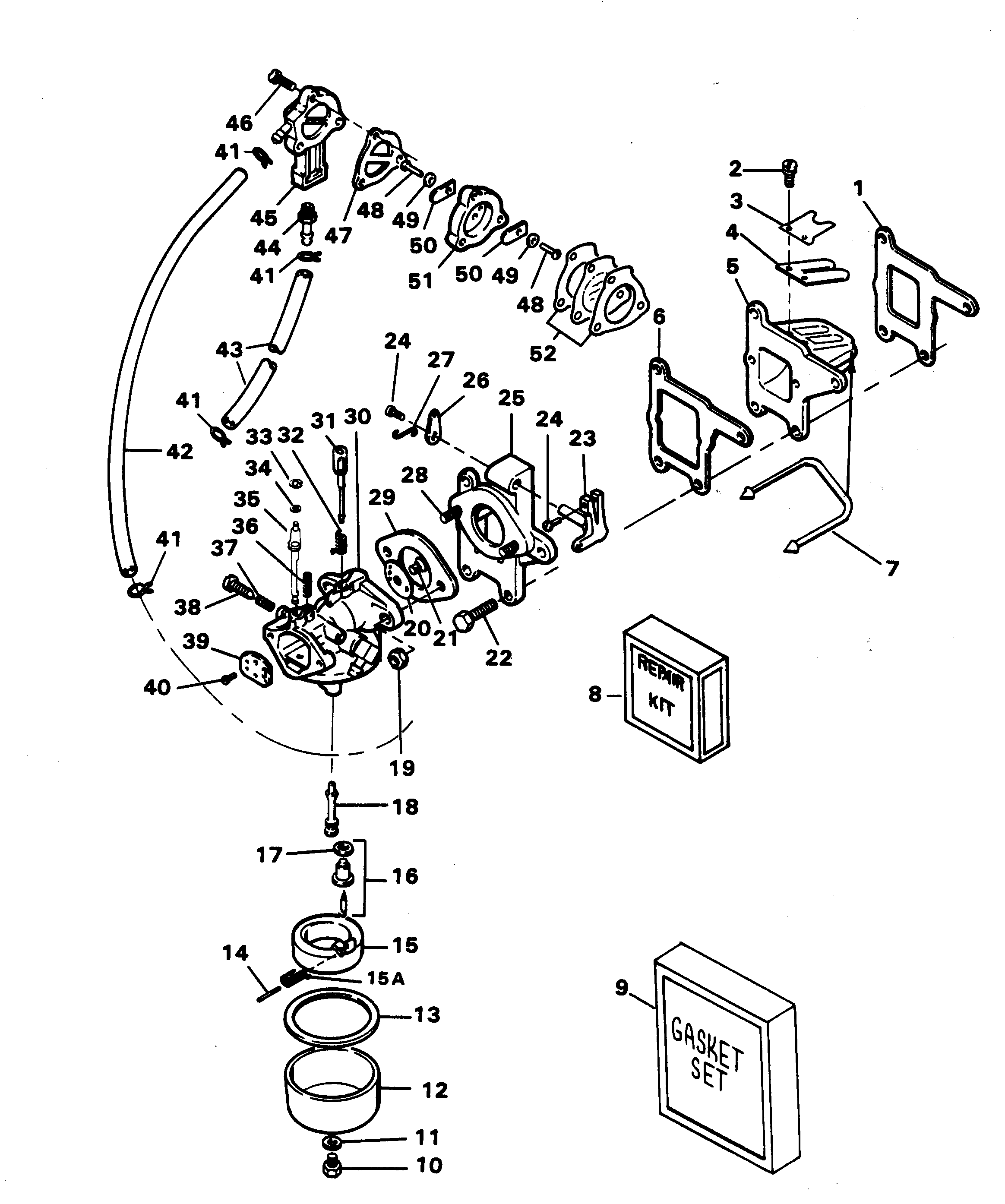 1987 force 125 outboard engine diagram 125 mercury