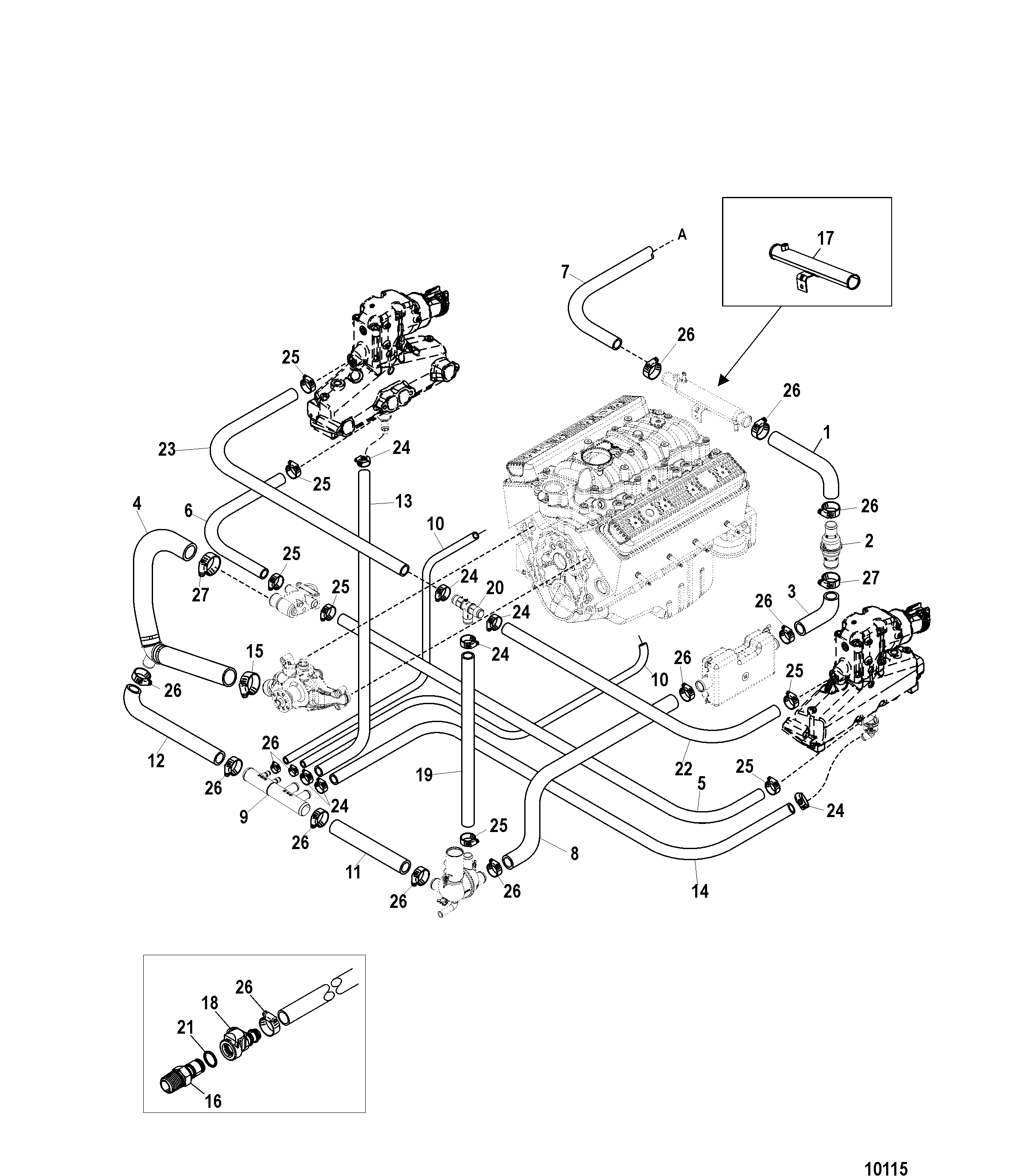 Mercruiser 43 Wiring Diagram Charging System Trusted 4 3 Liter 1992 5 7 Cooling Basic Guide U2022 1986 Engine