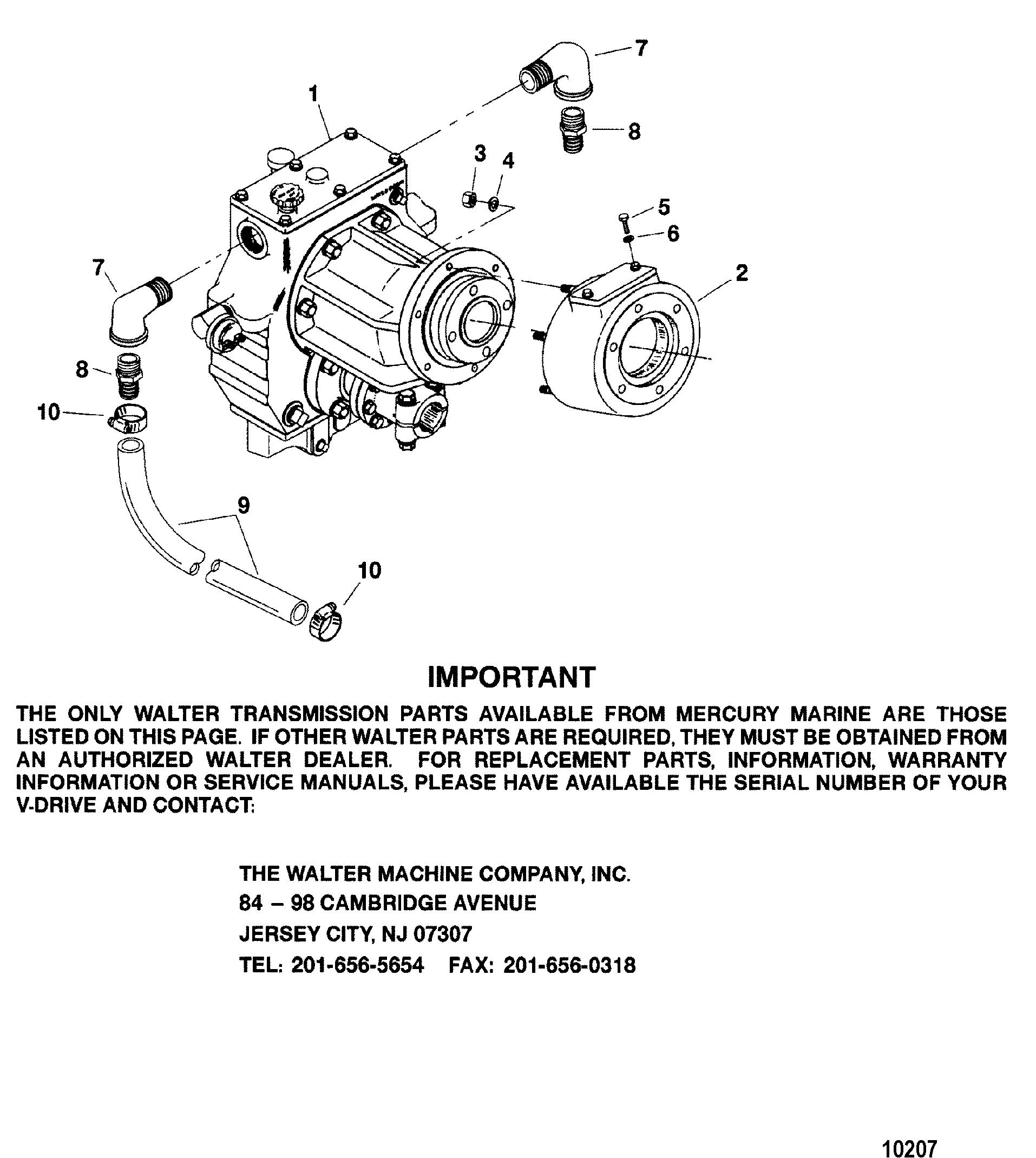 Transmission(Walter V-Drive)