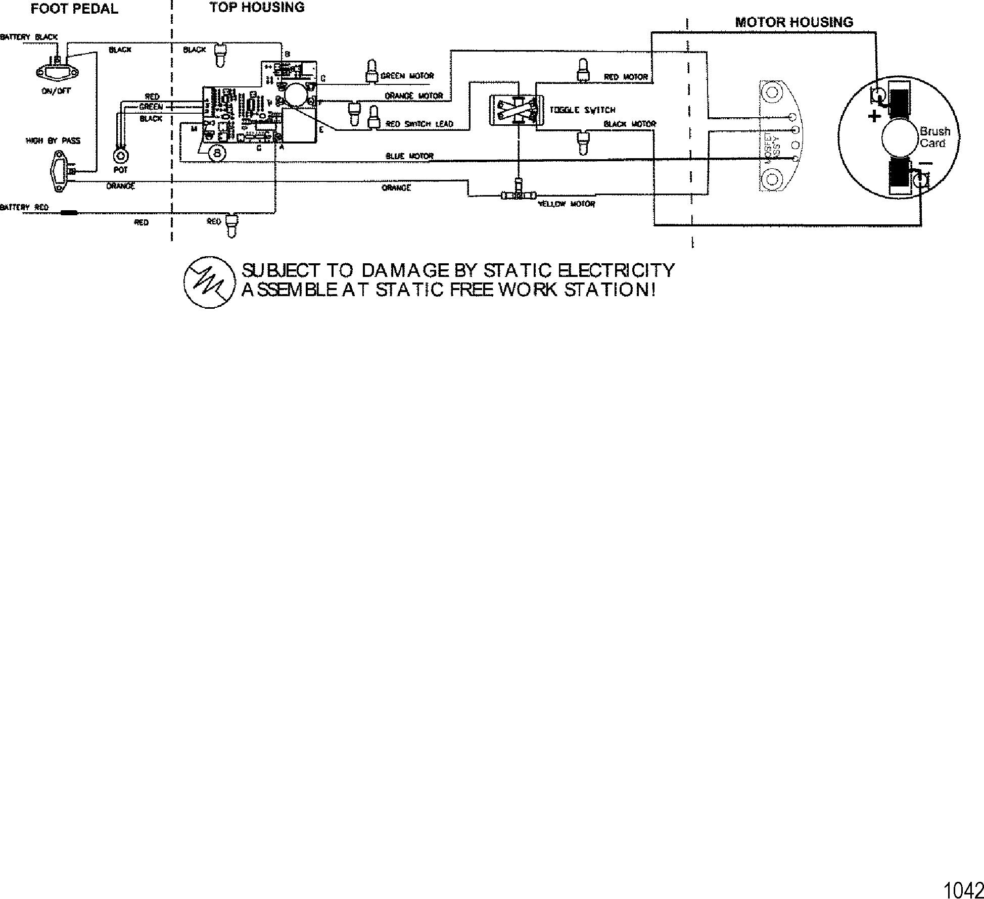 КатаРог запчастей trolling motor motorguide 600 series 1998 up wire diagram model 667v 24 volt