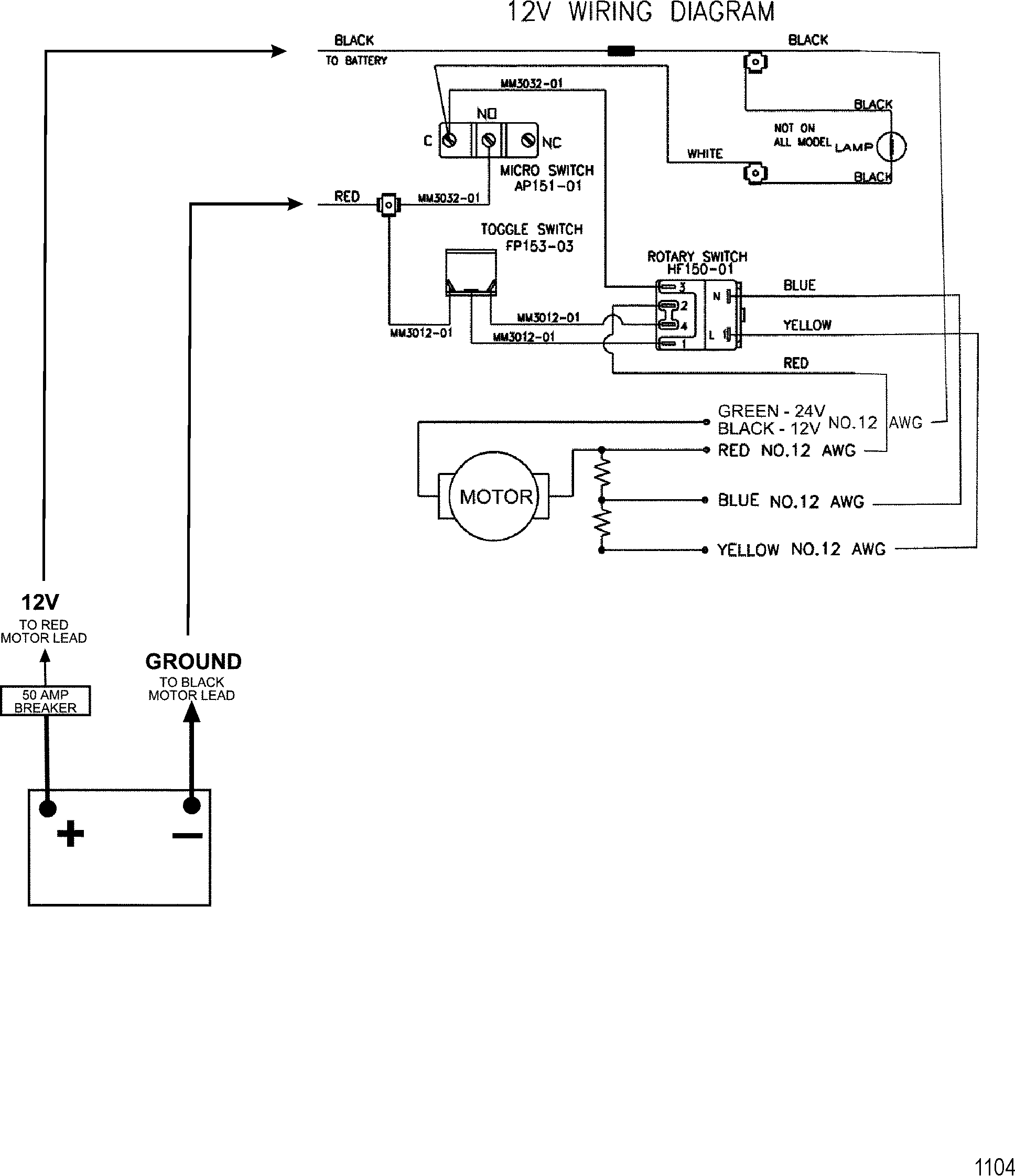 Omc Trolling Motor 12 Volt Wiring Diagram Libraries 4 3 Motorguide Detailed