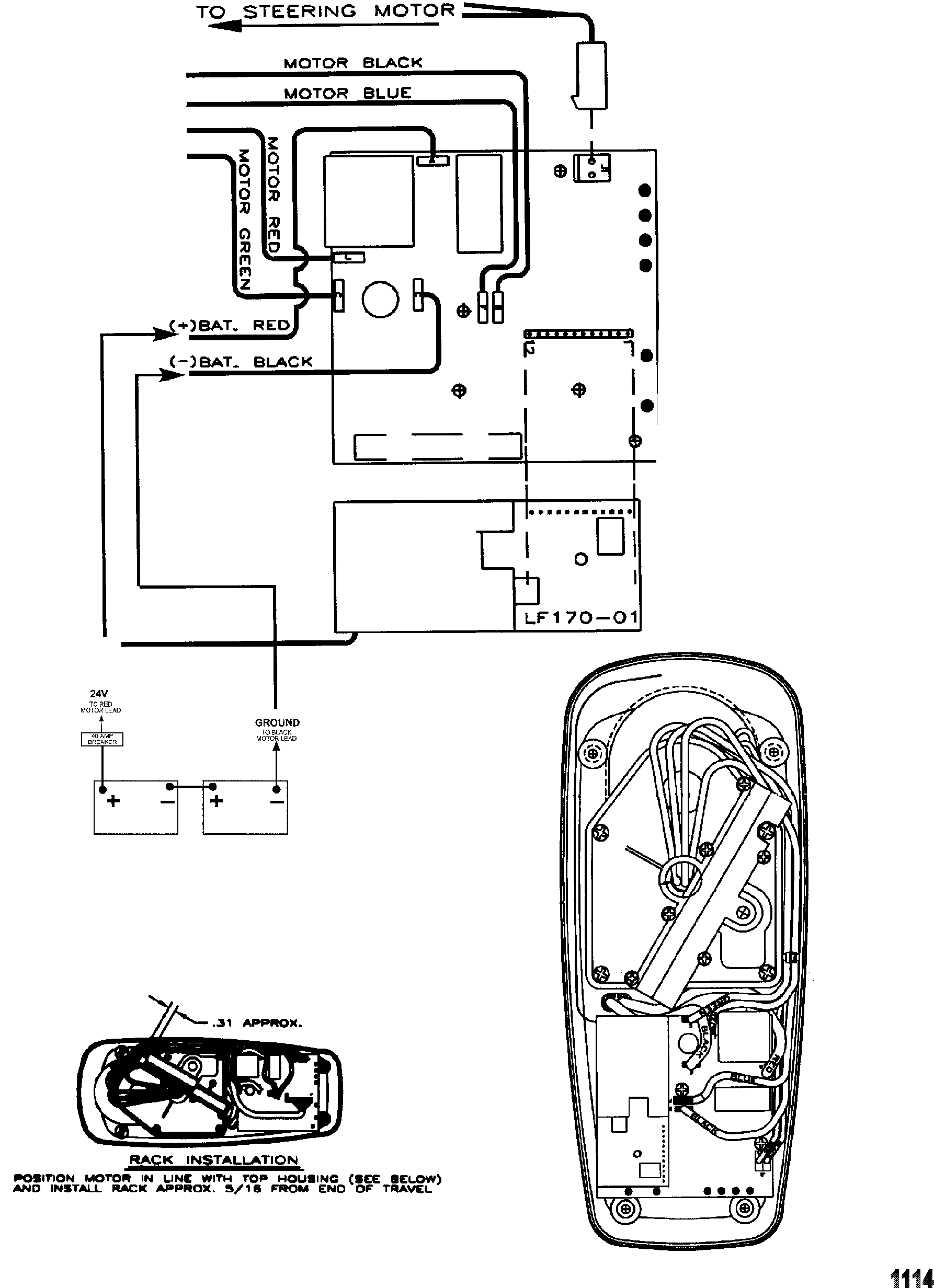 4 plug wiring diagram 24v trolling motor motorguide 24