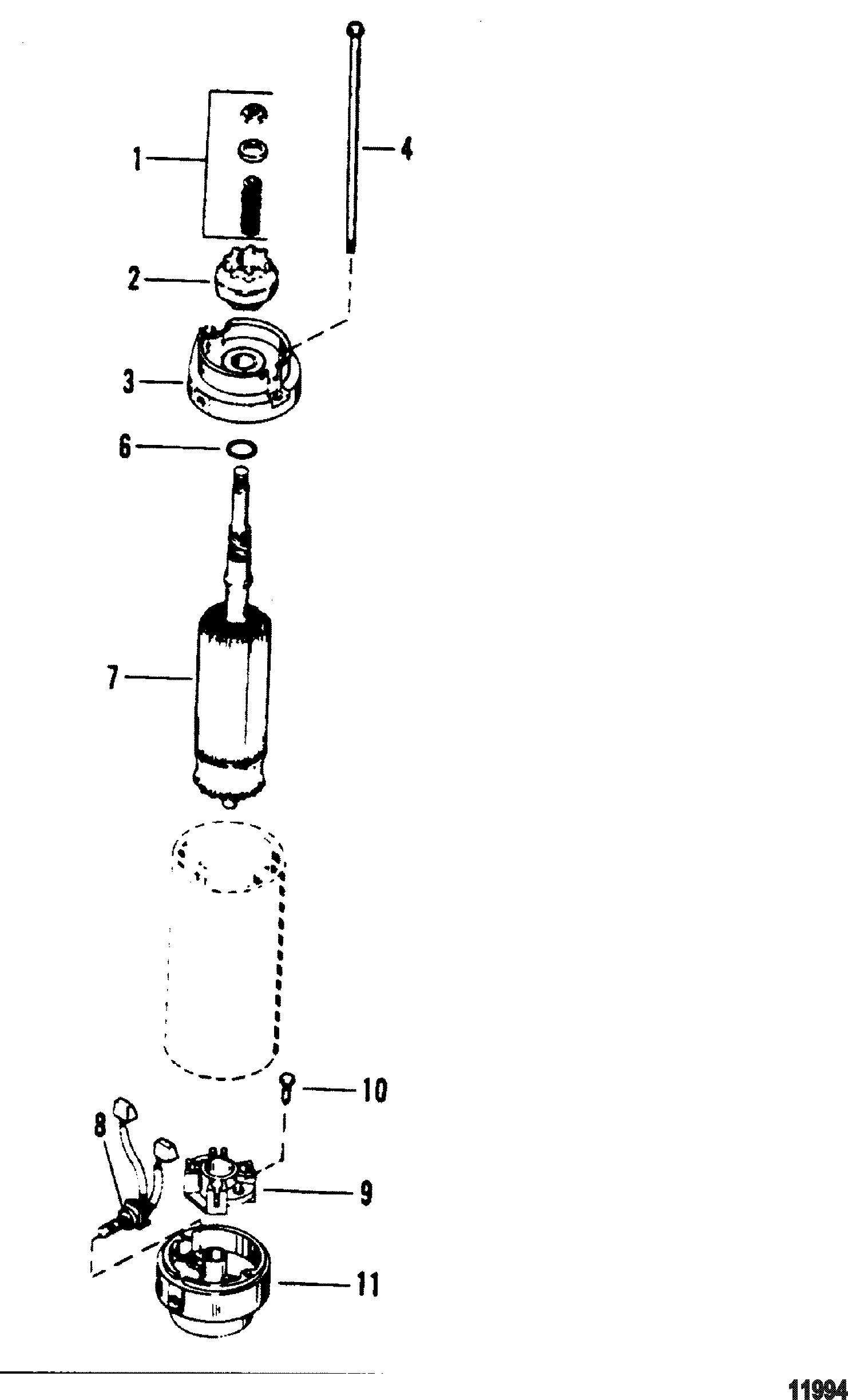 40 hp 4 cyl mariner wiring diagram  40  get free image