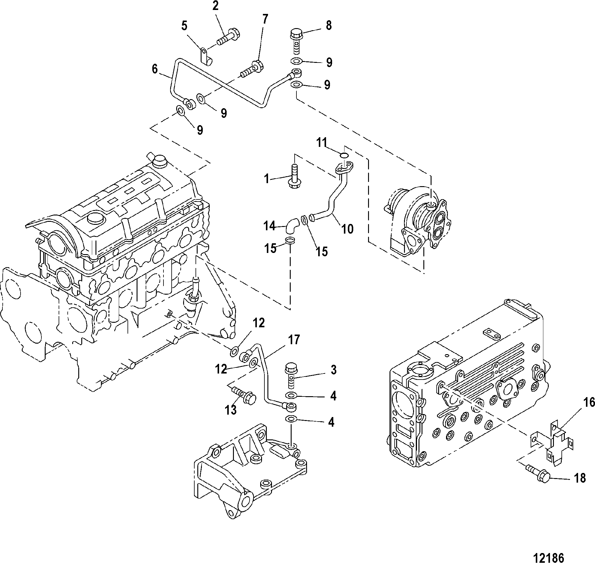 ford 302 power steering bracket diagram