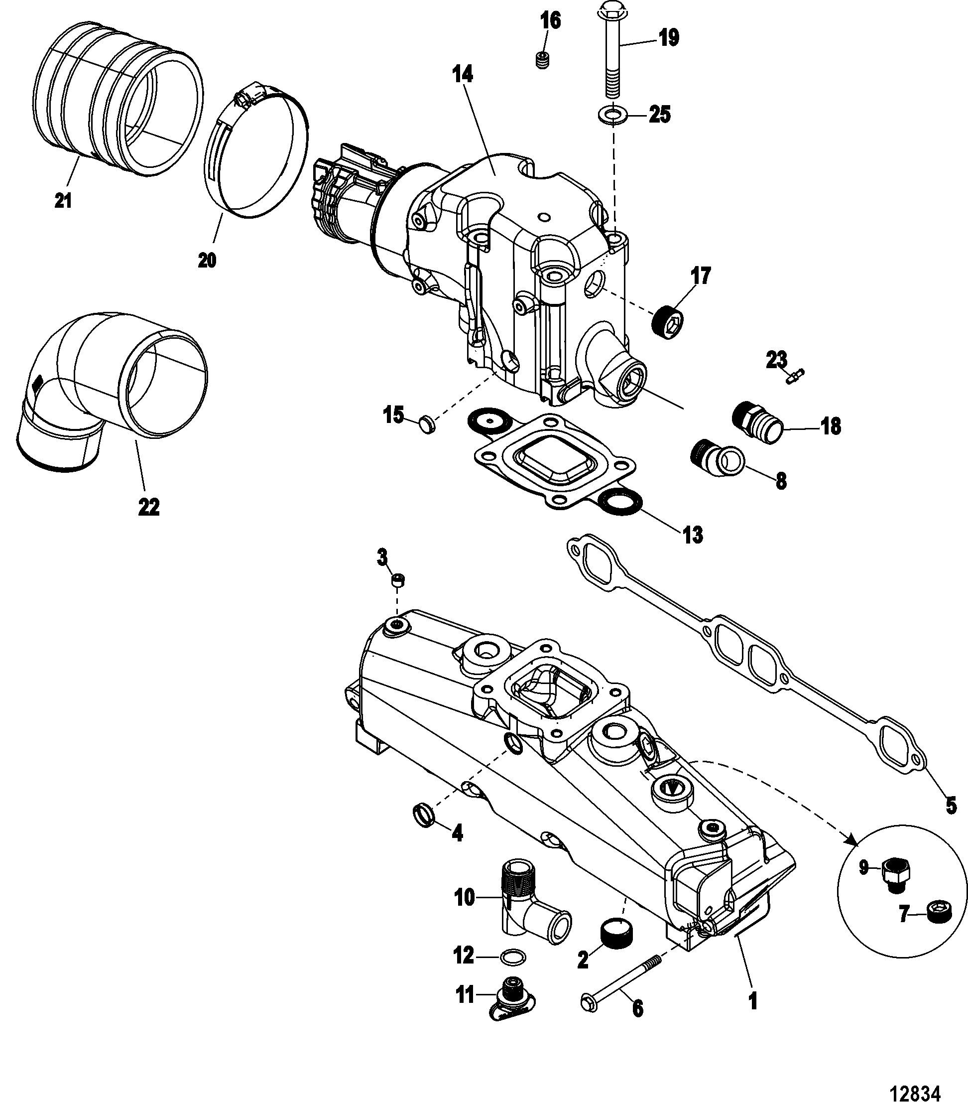 ford 302 marine engine diagram