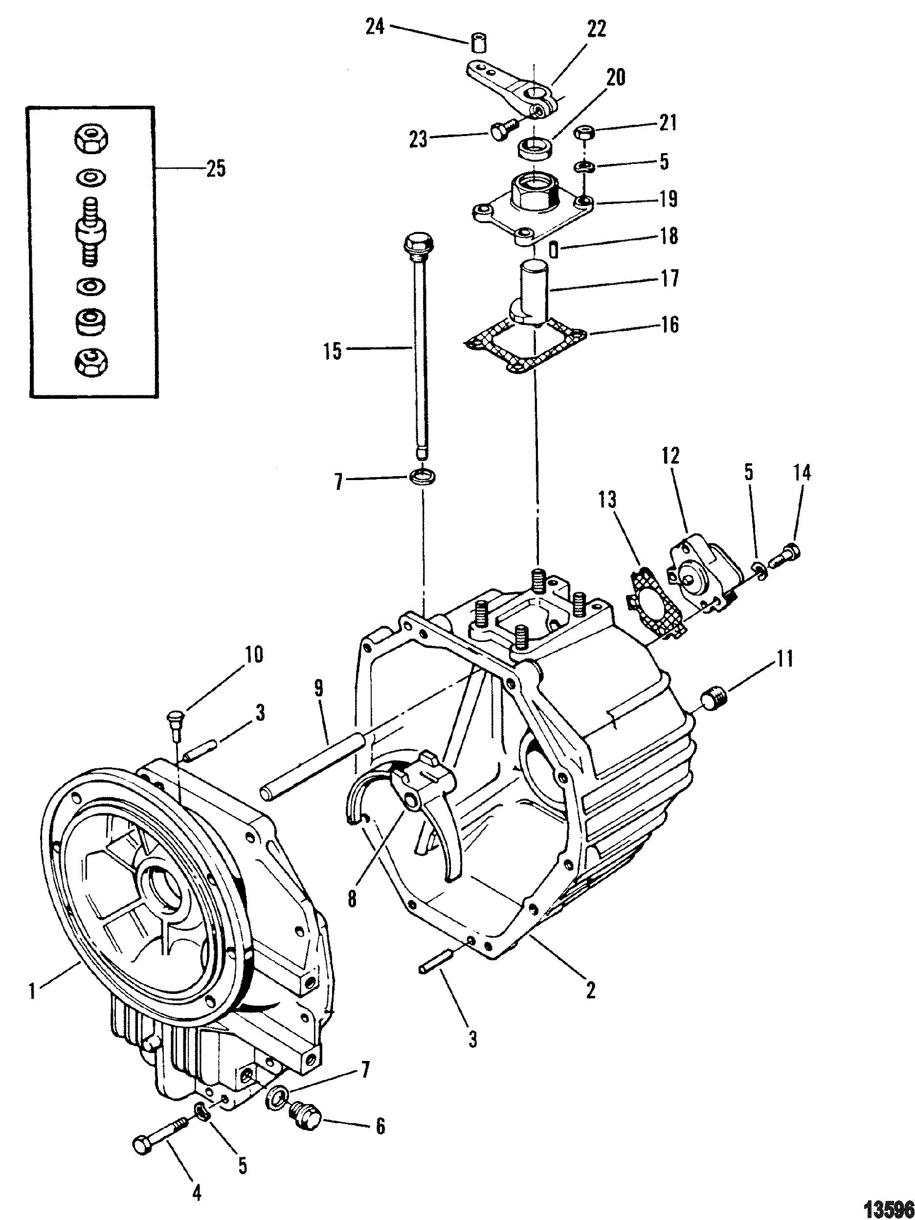 Каталог запчастей Mercruiser остальные D219 Turbo Ac Mcm