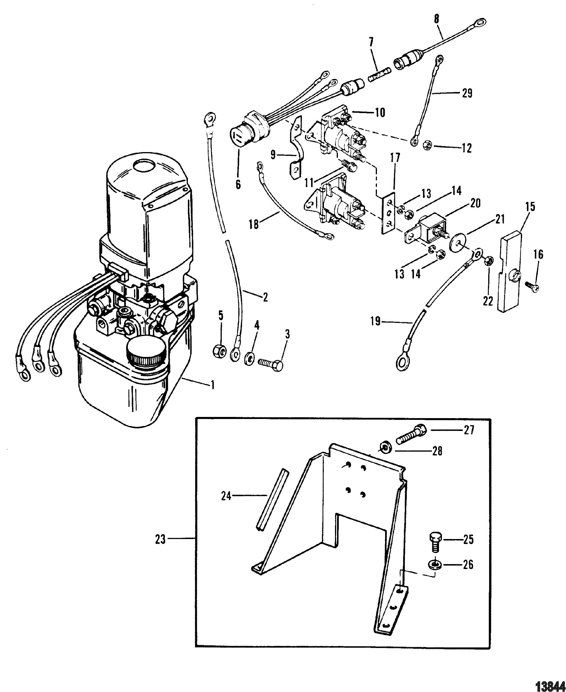 on 1973 mercruiser trim gauge wiring diagram