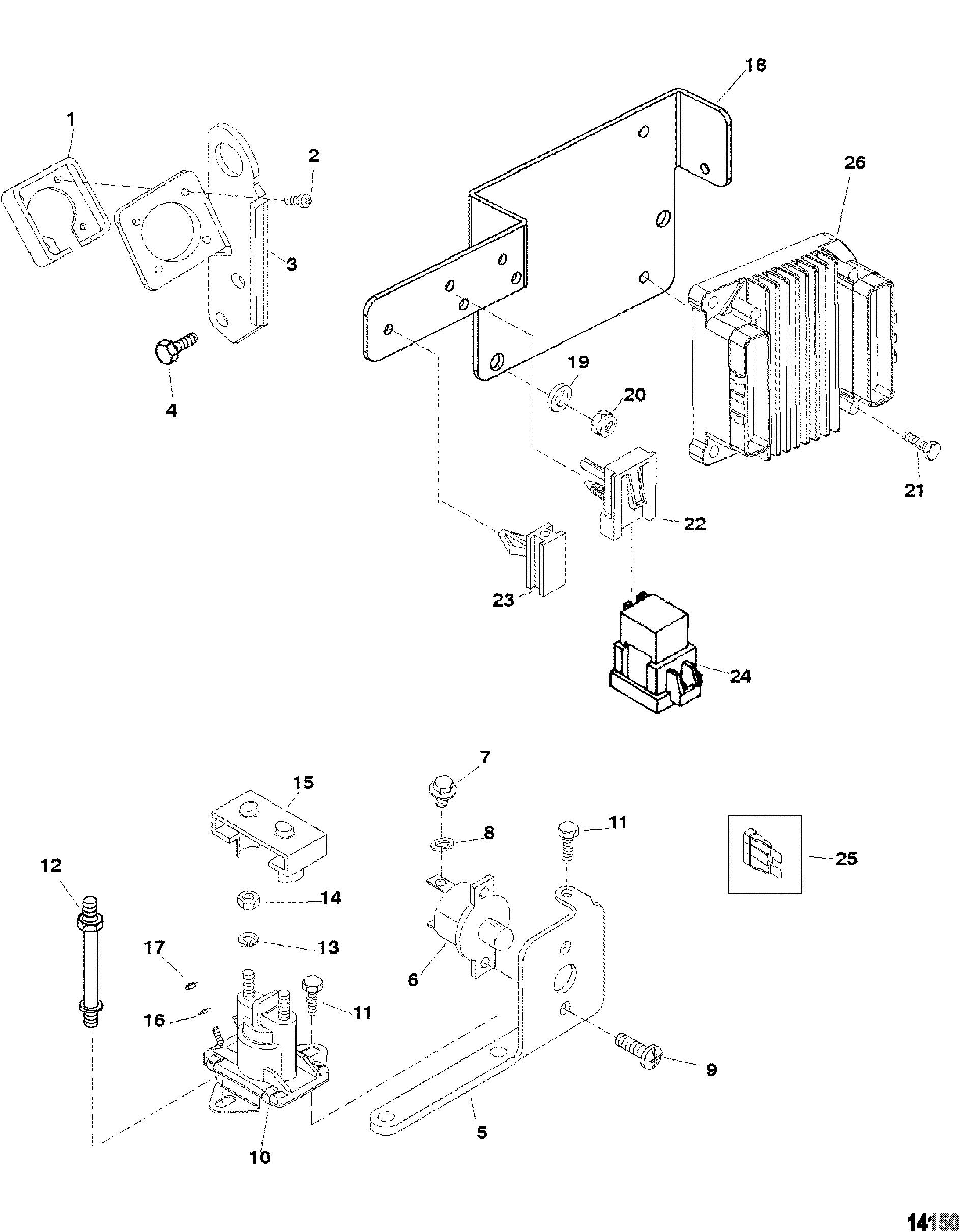 Mercruiser 5 7l Efi Gm 350 V 8