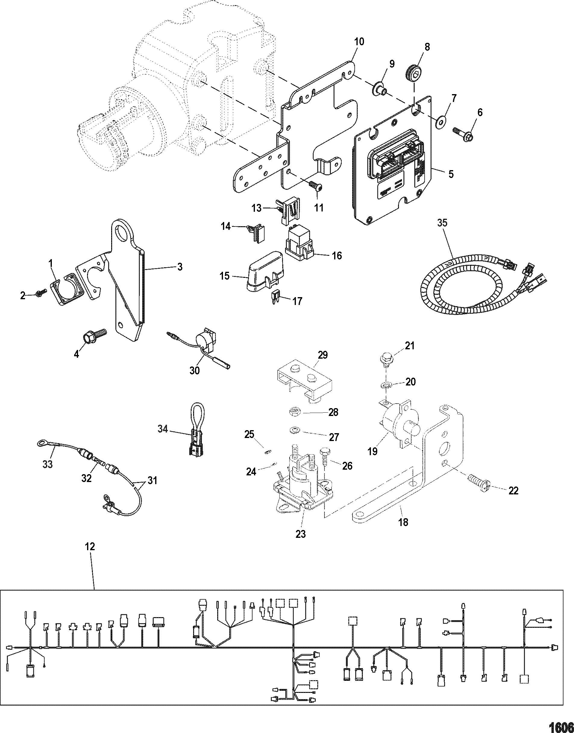 mercruiser 888 ignition wiring diagram  u2022 wiring diagram