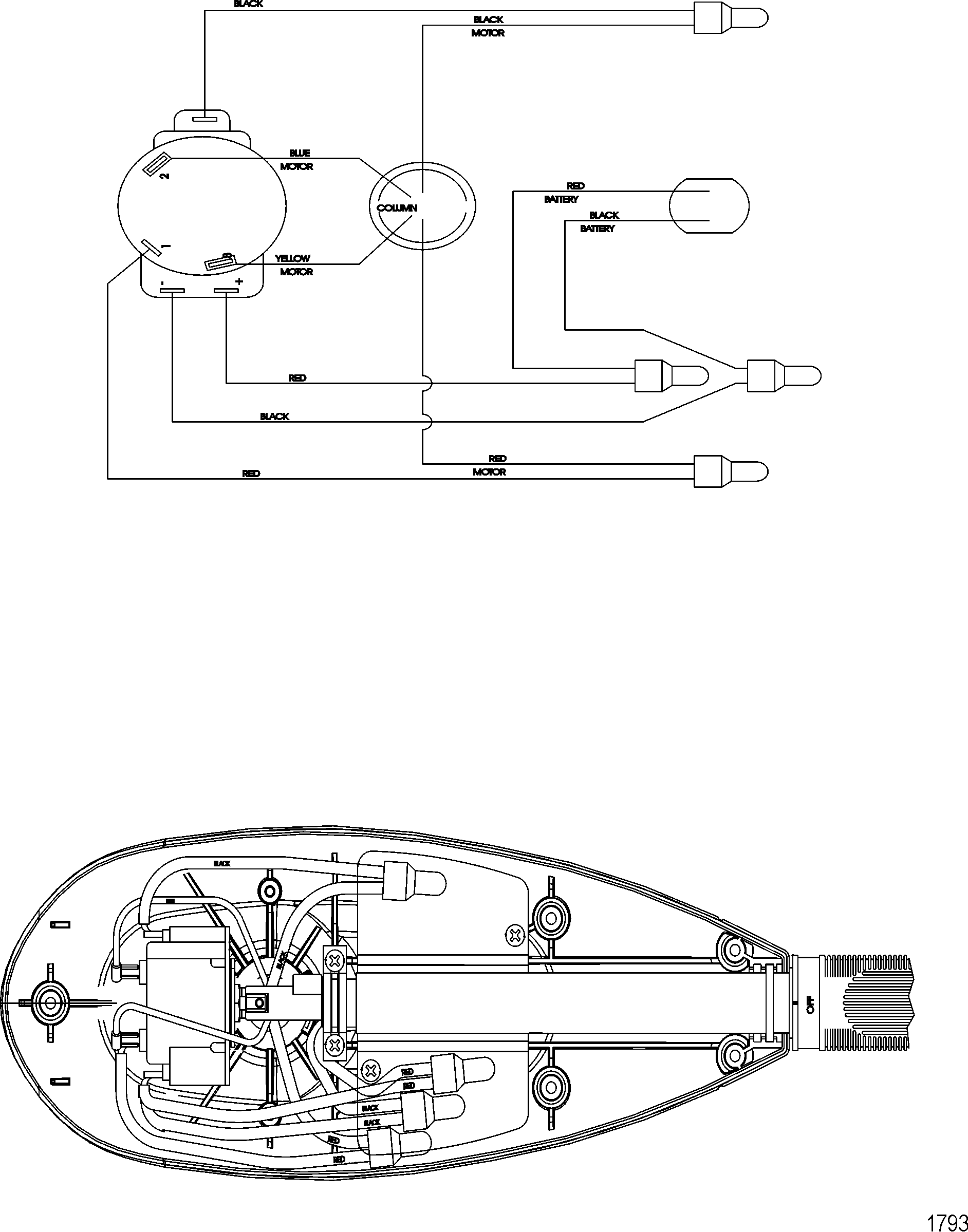 volt trolling motor wiring diagram furthermore old