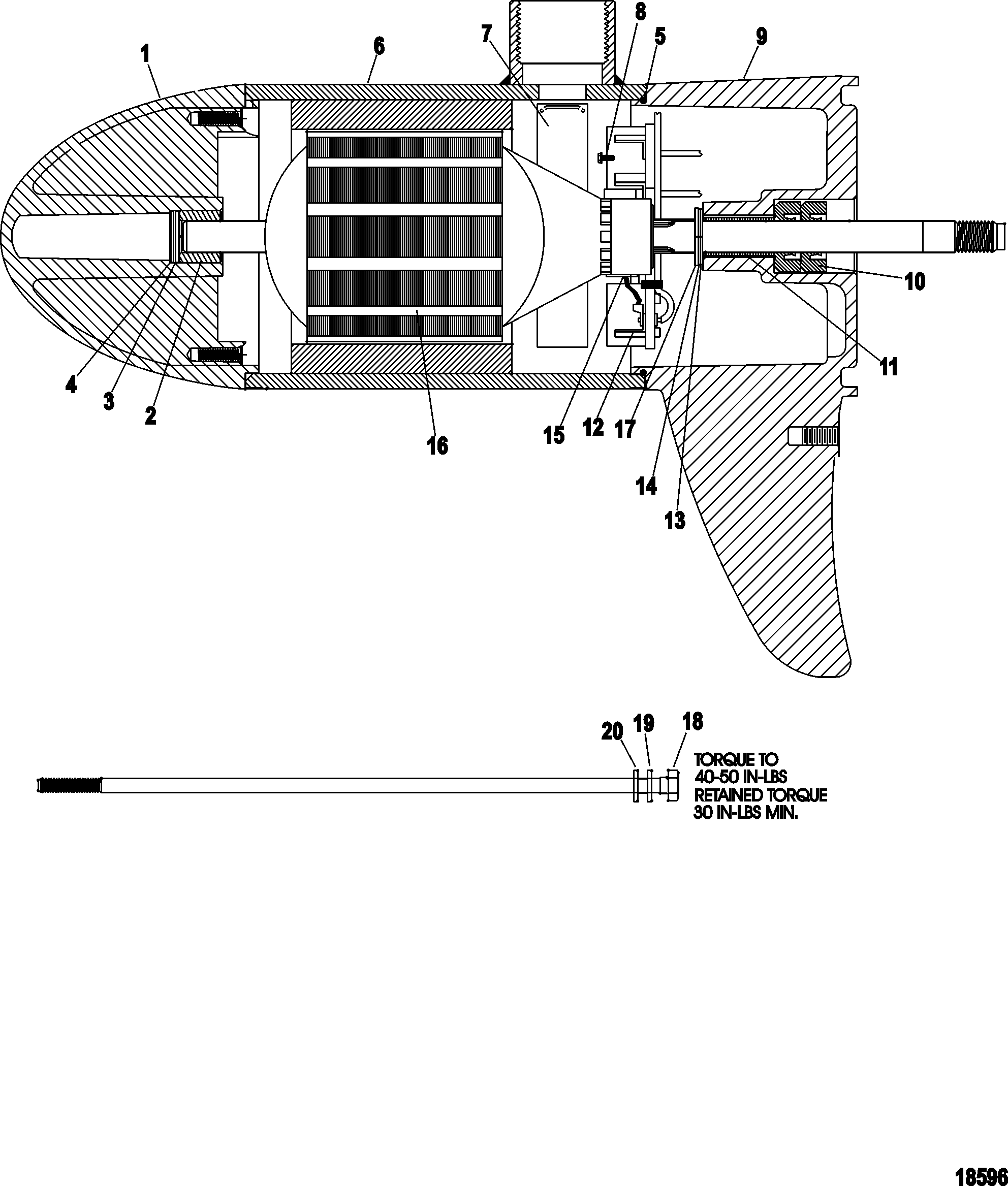 Trolling Motor Lower Unit Schematics Wiring Diagram Master Blogs Omc Schematic Motorguide Pro Series 9b000001 Up Rh Mercury Lakor Com