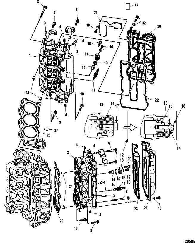 Mariner 225 Efi 4 Stroke 0t653945 Amp Up
