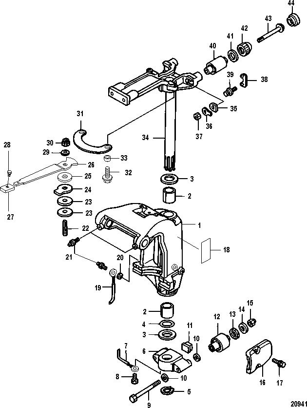 mercury 300 verado electrical schematic
