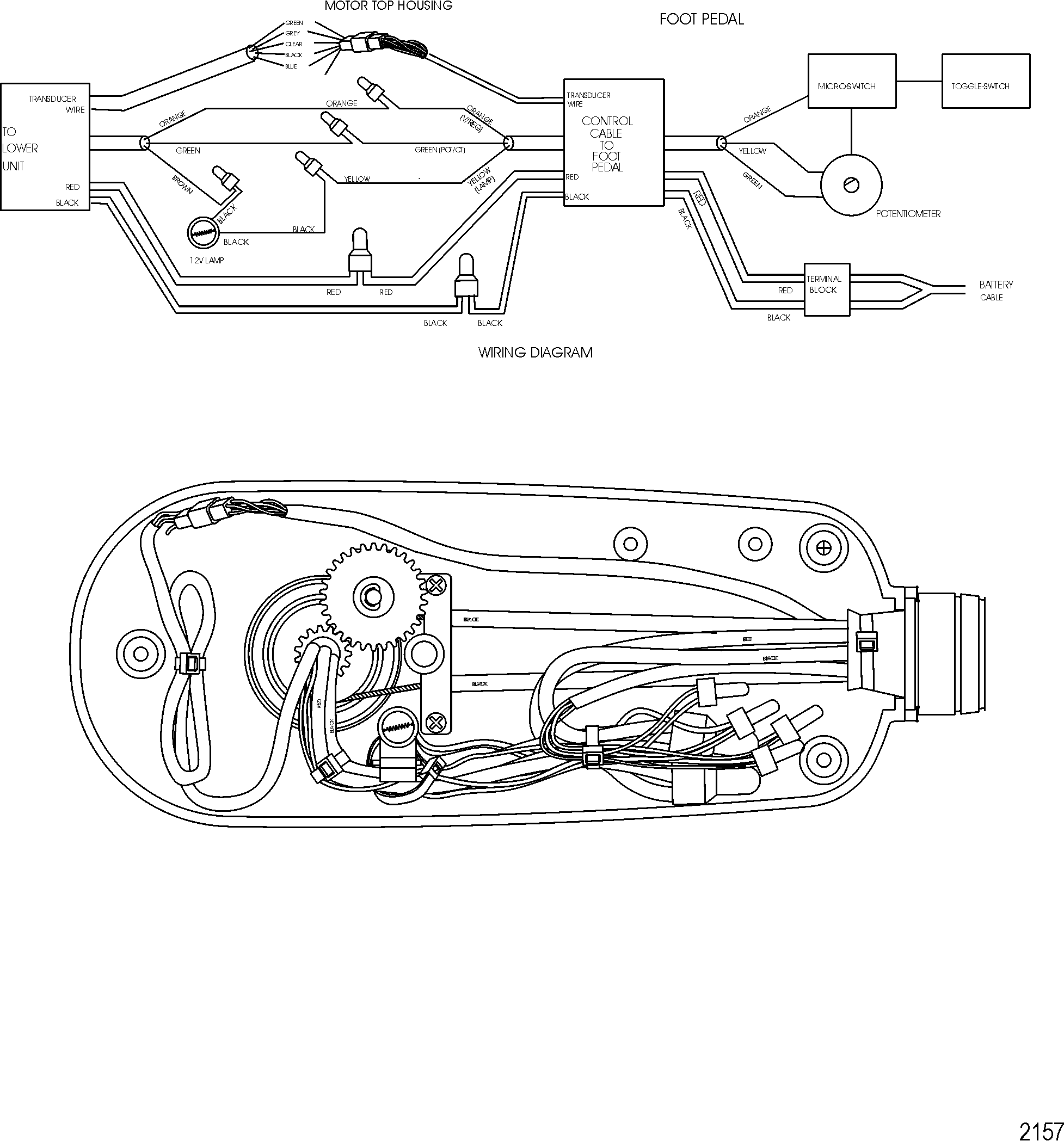 Motorguide Foot Pedal Wiring Diagram Explained Diagrams Accelerator Volvo Funky Pattern Electrical
