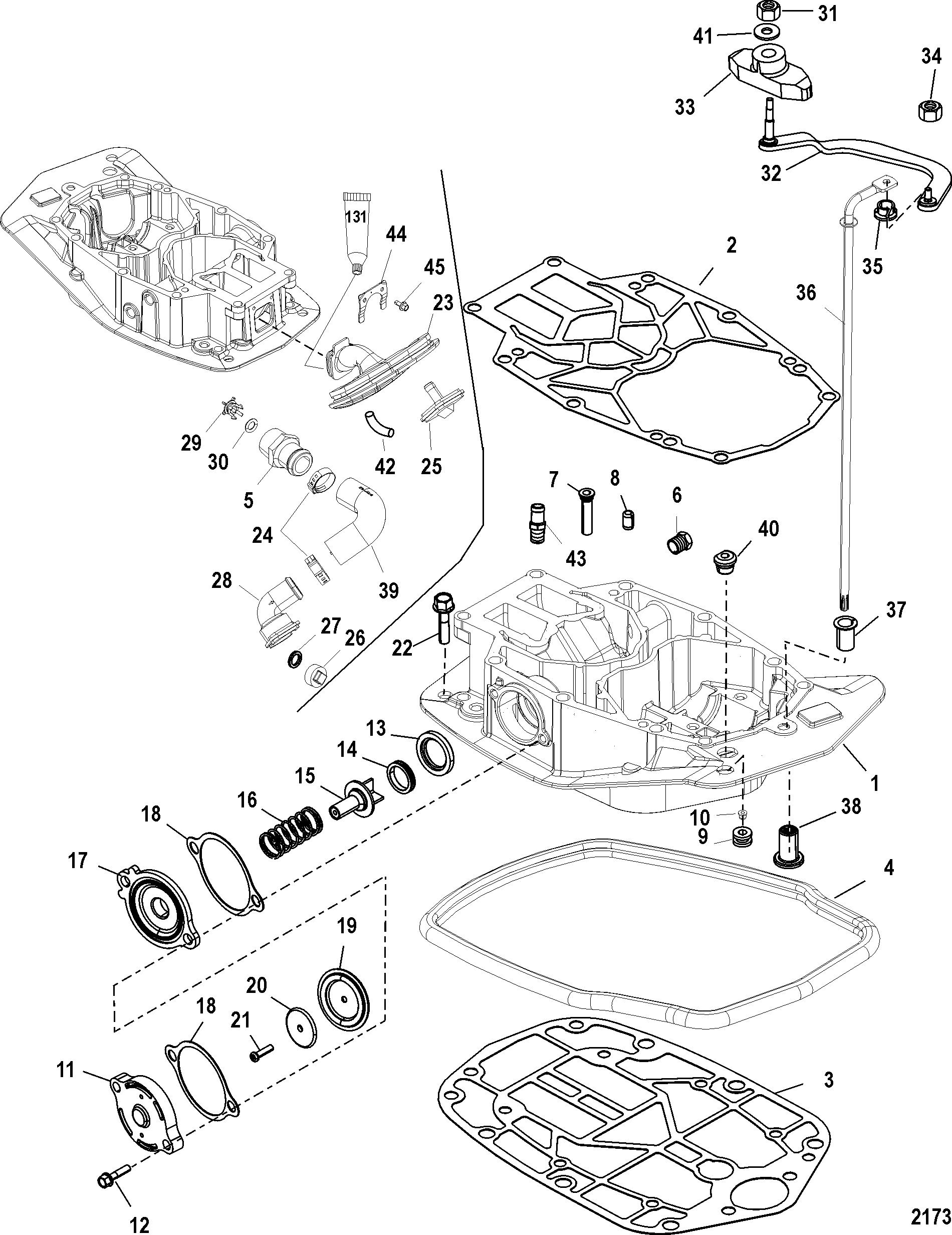 Mariner 225 30l Efi 0t801000 Thru 1b417701 Outboard 1b226999 Flywheelalternator Diagram And Parts Exhaust Plate Icon Picture Flywheel Alternator