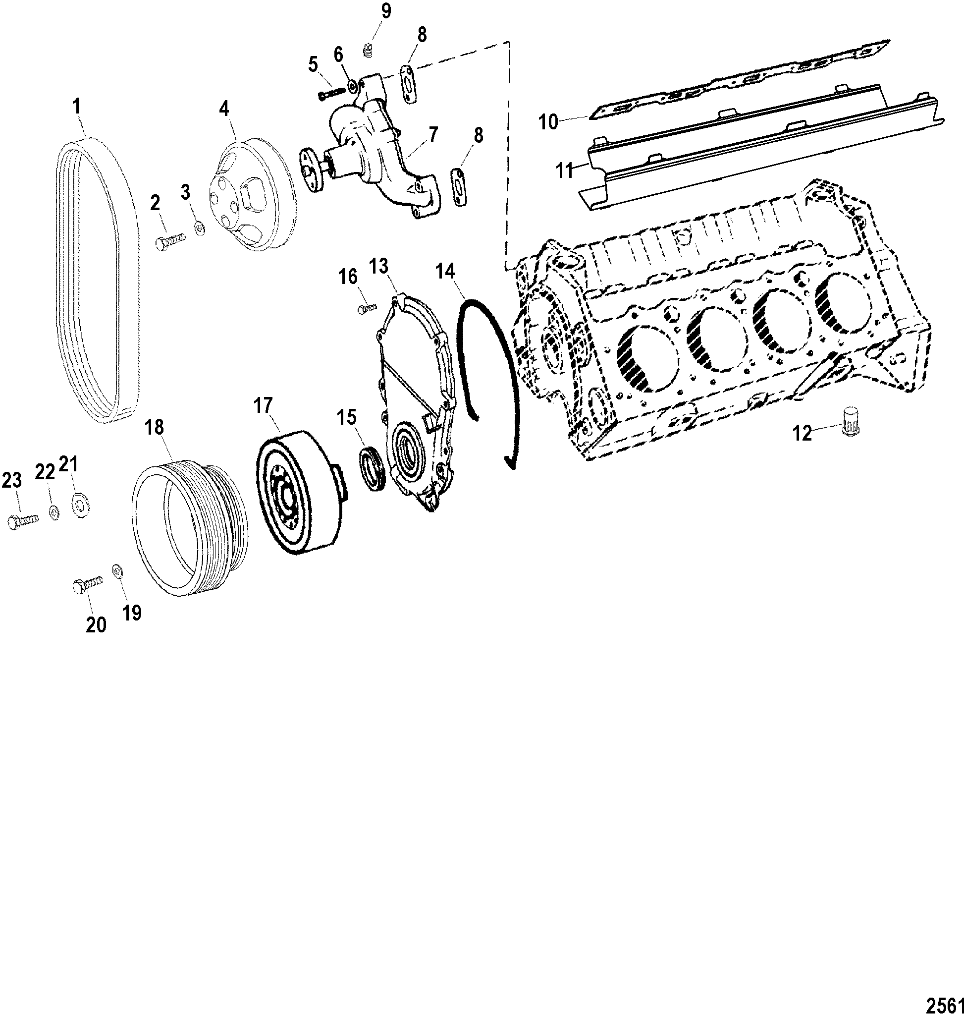 1999 mercury tracer gs engine diagram