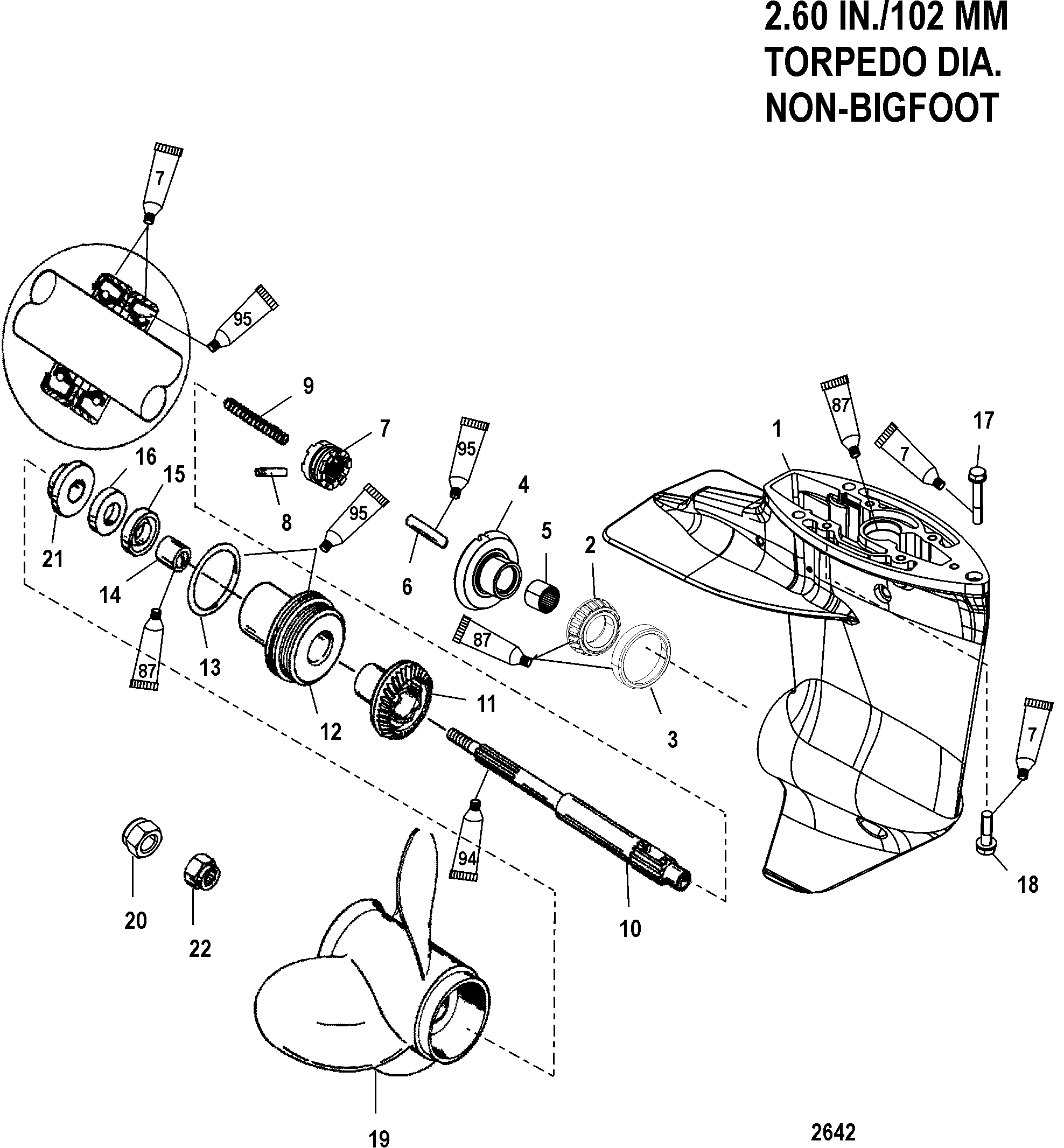 замена сальников в редукторе лодочного мотора меркурий