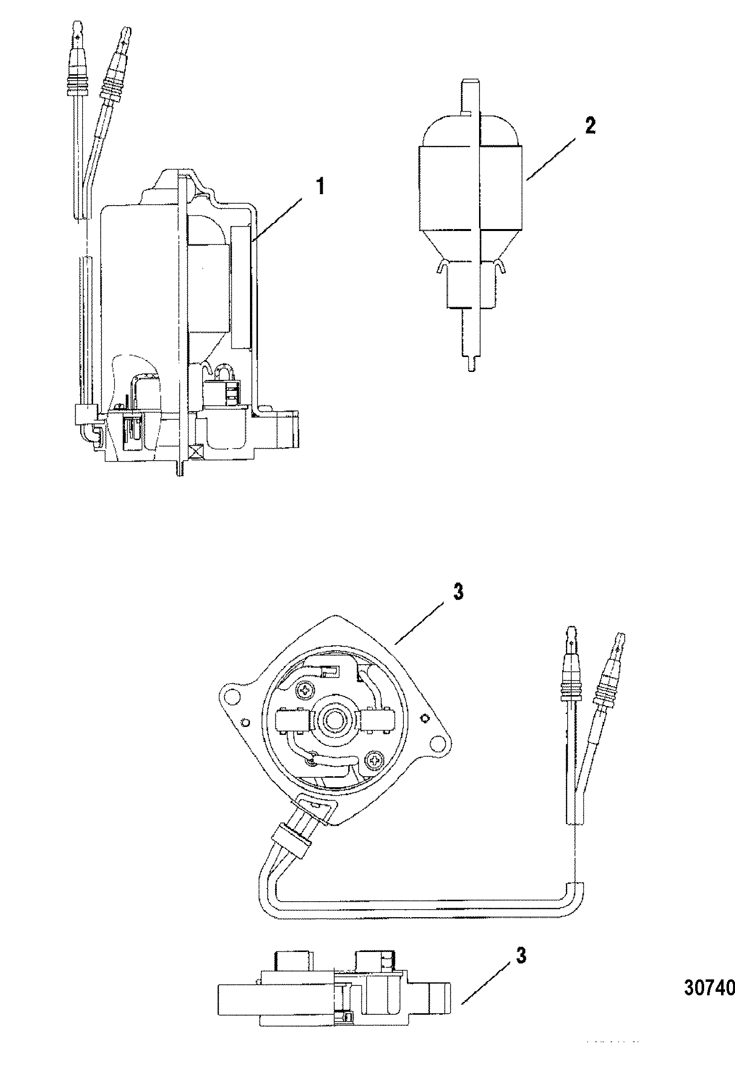 Mercury V 150 Efi 0g960500 Thru Diagram Of 8 2 Cyl2strokeinternational Outboard Power Trim Motorremoveable Pump Housing