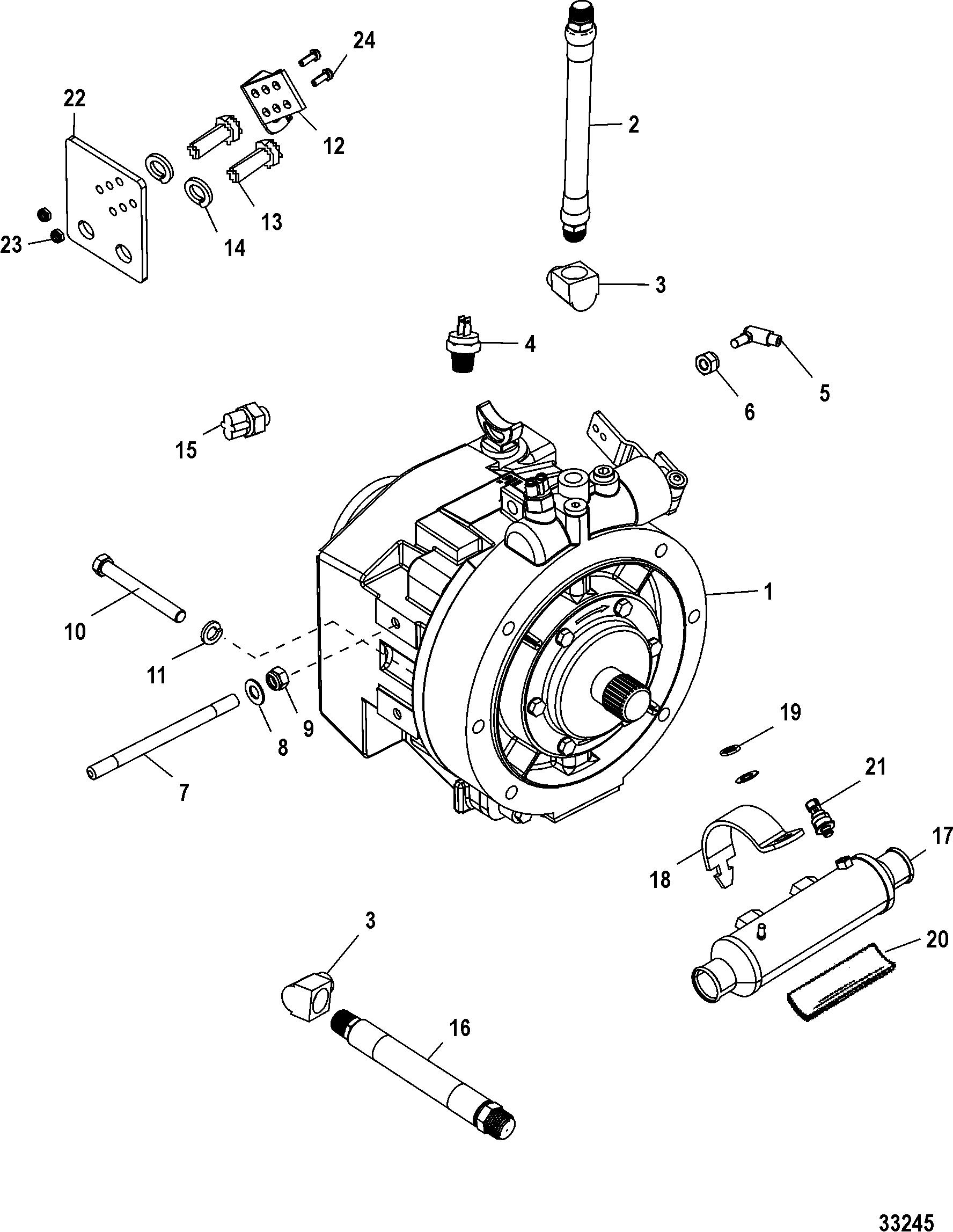 mercruiser outdrive trim pump wiring diagram  diagram