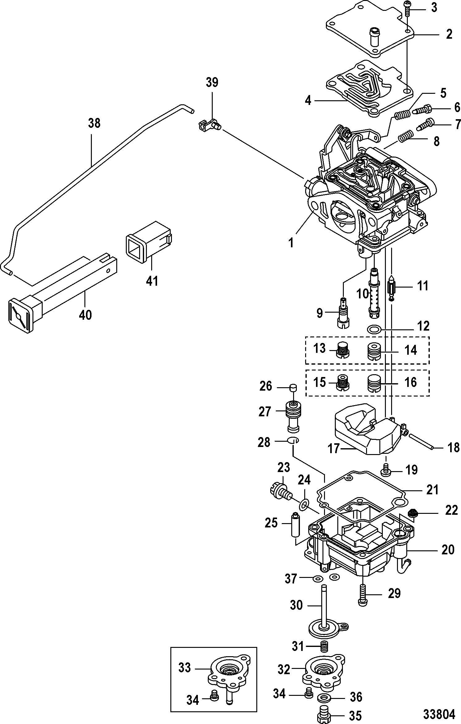 Каталог запчастей mariner 20 carb(2cyl)(4 stroke) 0r235168 \u0026 upMercury Outboard 0r235168 Up Gear Housing Propeller Shaft Diagram #8