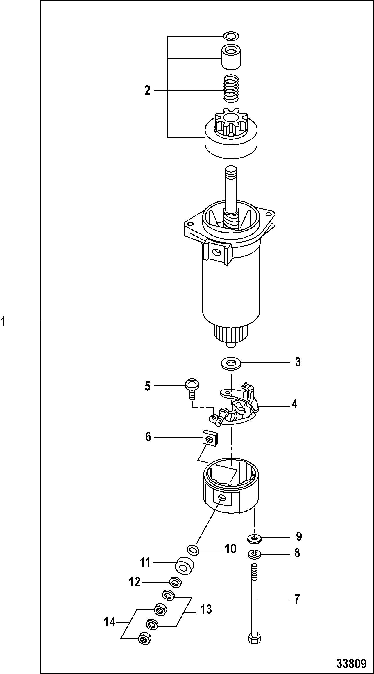 Каталог запчастей mariner 20 carb(2cyl)(4 stroke) 0r235168 \u0026 upstarter motor components
