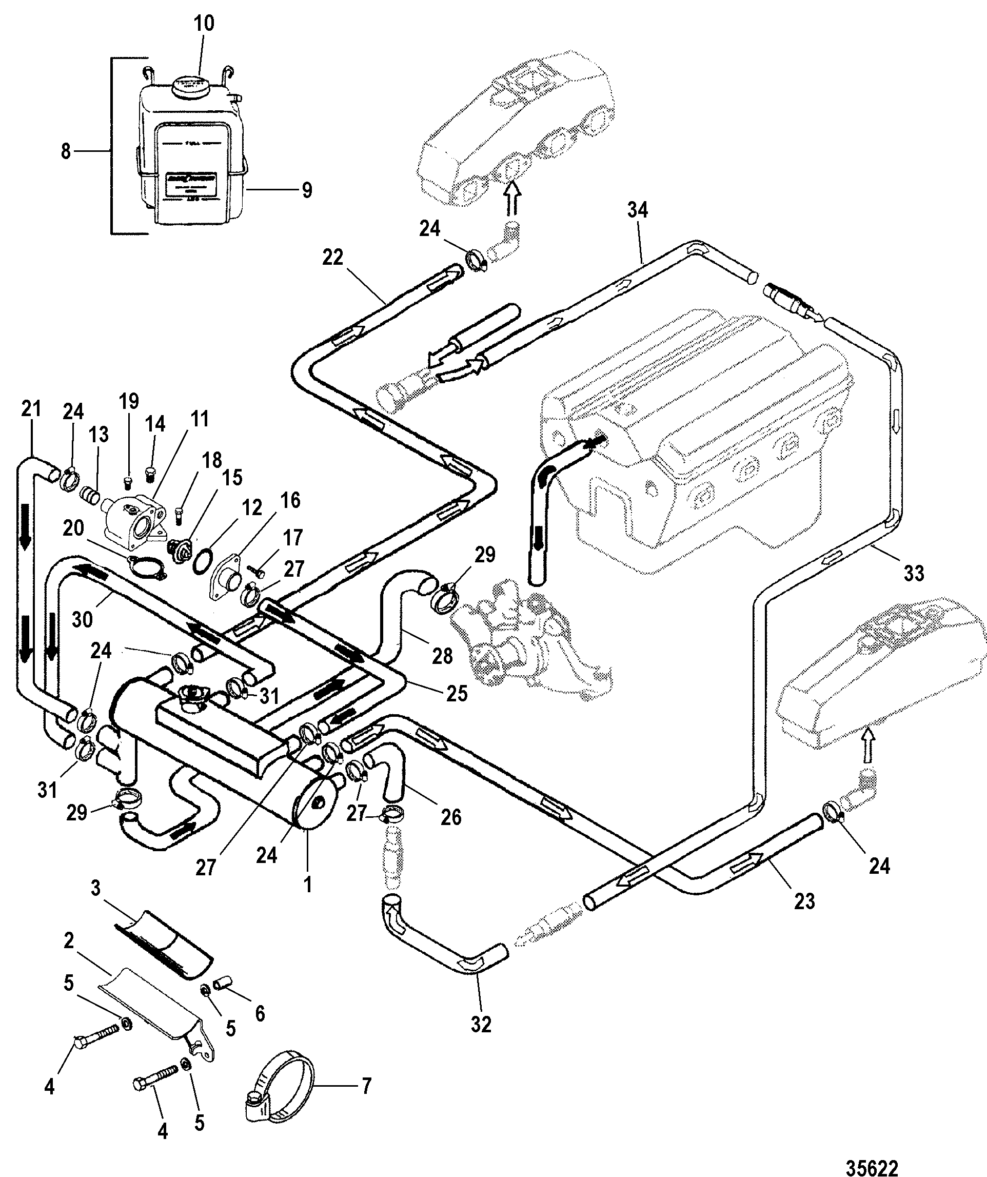 on 1977 Mercruiser Wiring Harness Diagram
