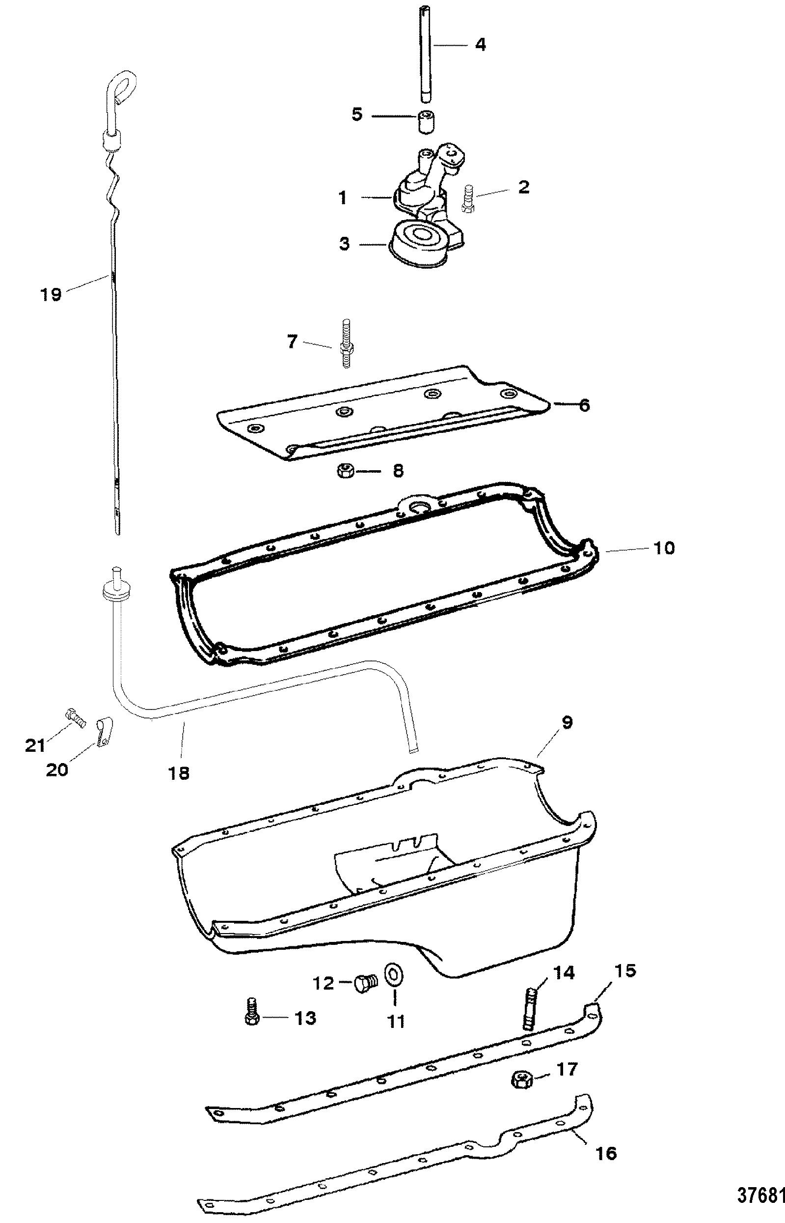 Wiring Harnessengine For Mercruiser 57l Lx 2bbl And 4bbl Tbi Alpha