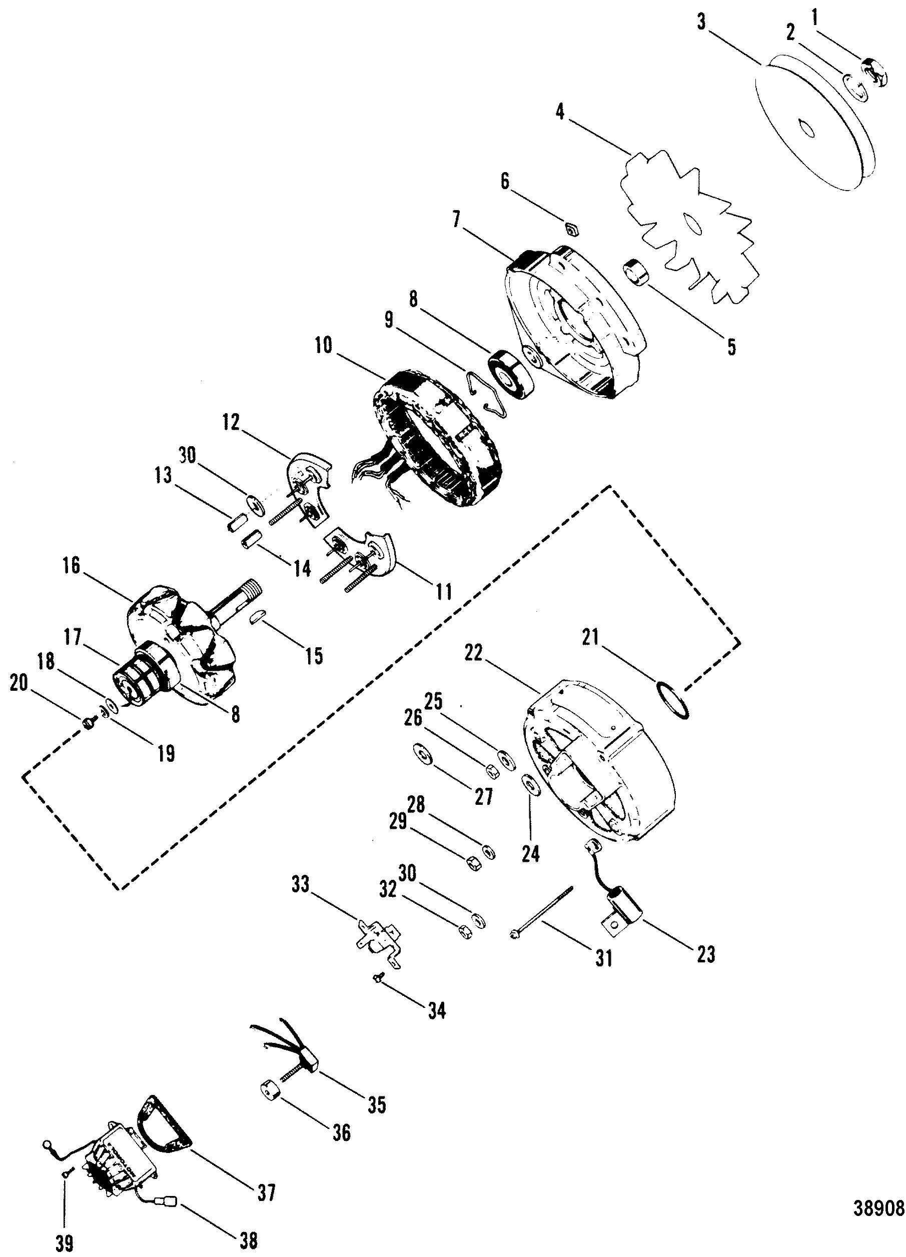 1978 Mercruiser Wiring Diagram Starter Relay 5 7l Competition Ski Gm 350 V Solenoid 898