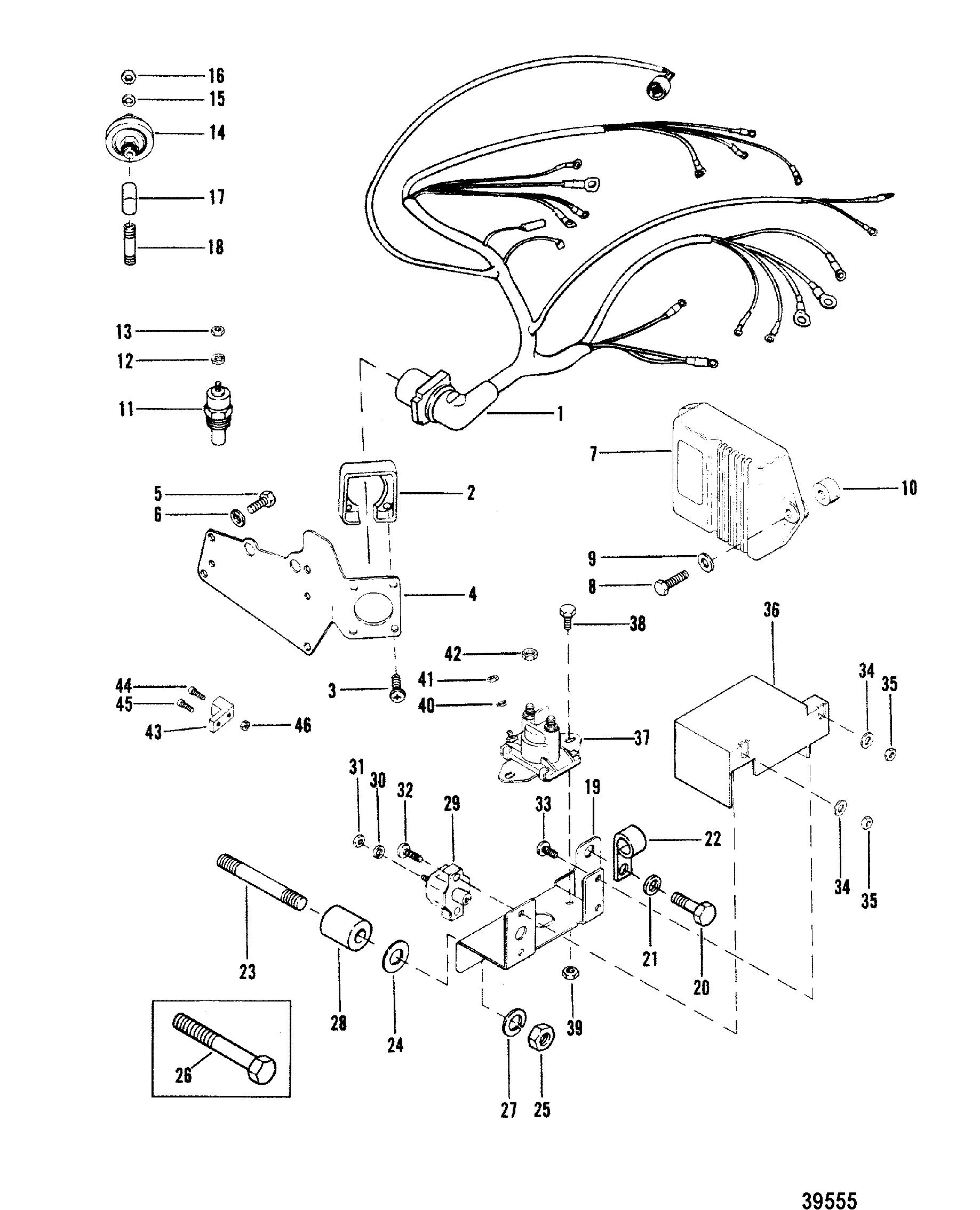 1985 Bayliner Wiring Diagram Manual Of Capri Harness Engine