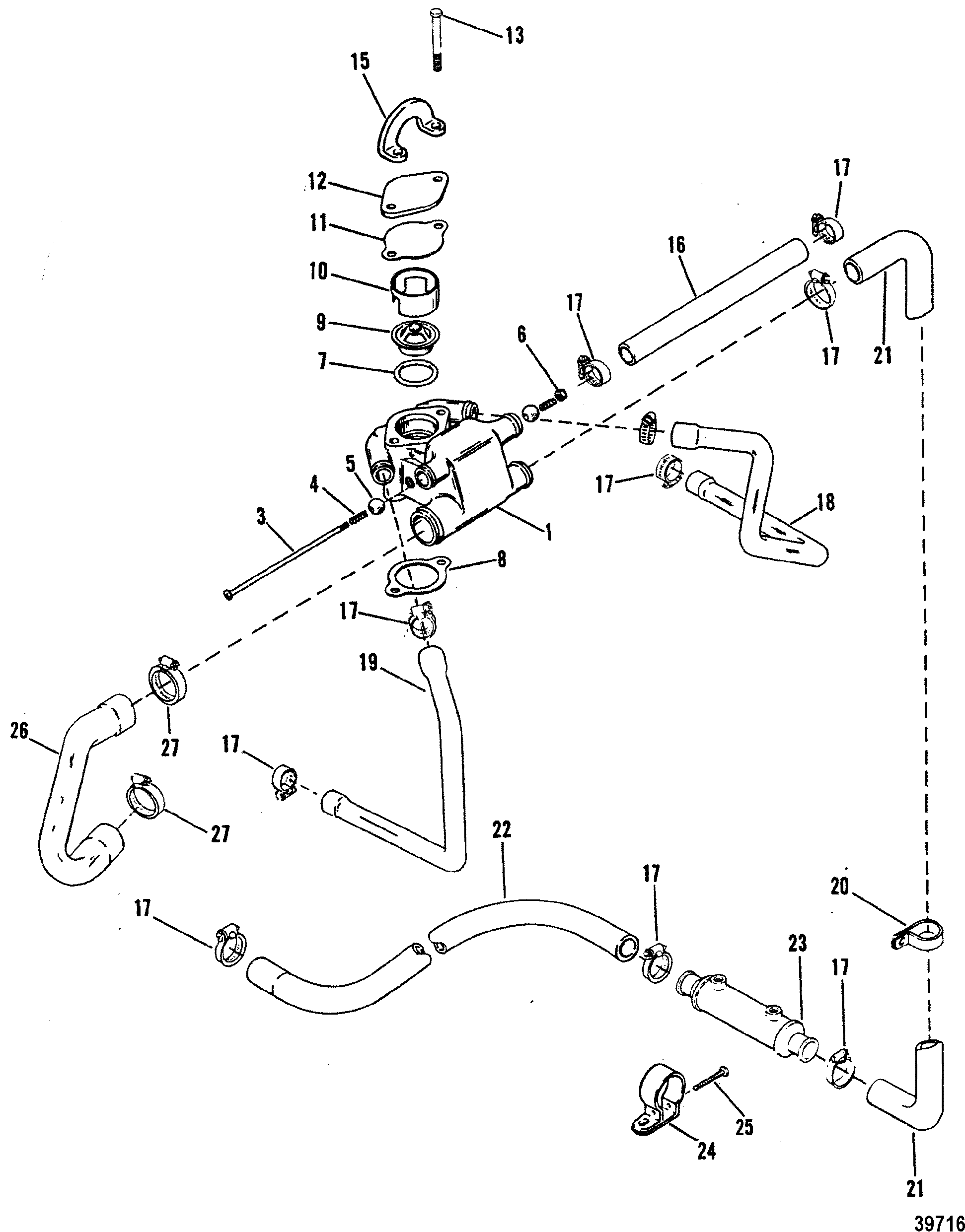Mercruiser 43lx Gen Ii 4 Bbl Gm 1978 898 Wiring Diagram Standard Cooling System