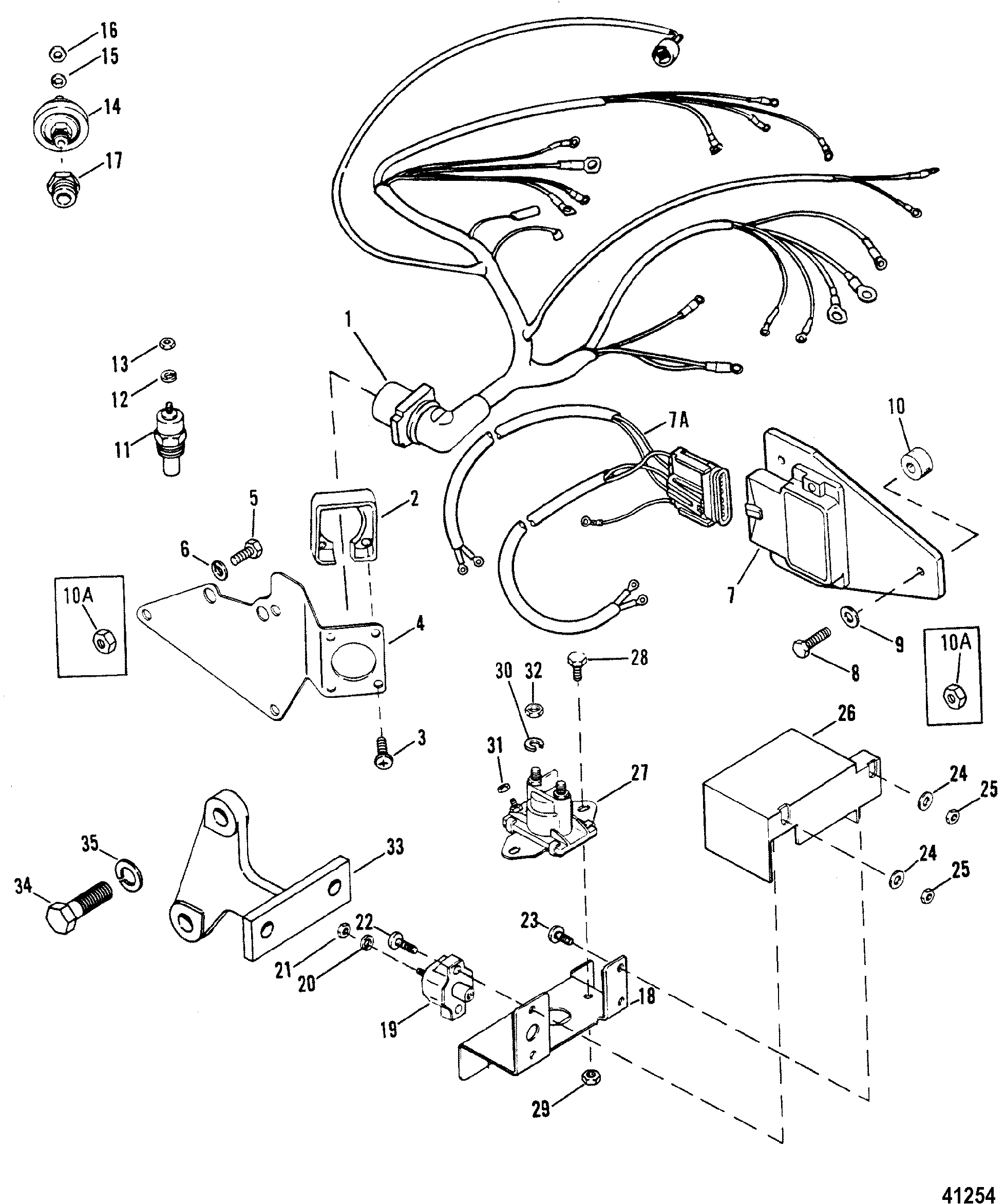 crusader 454 wiring diagram