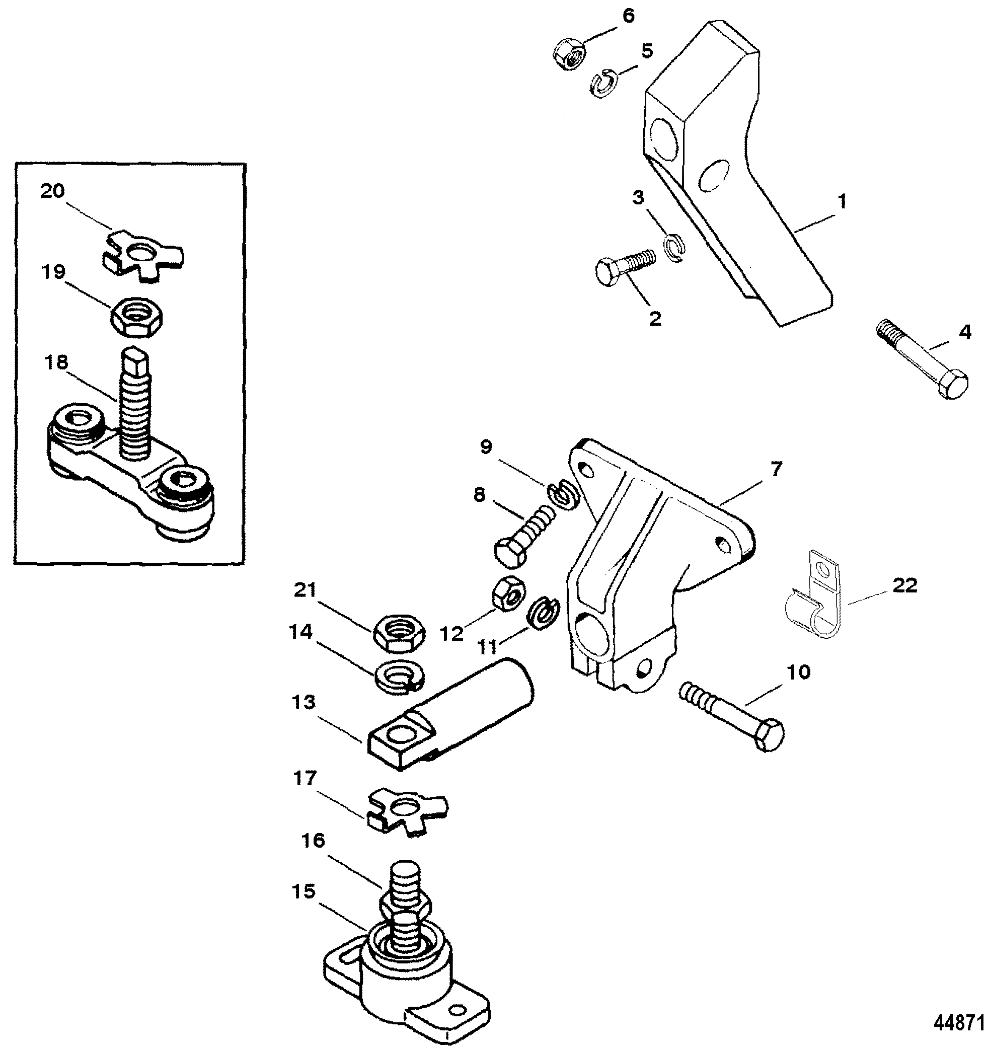 alternator bracket mounting line wiring