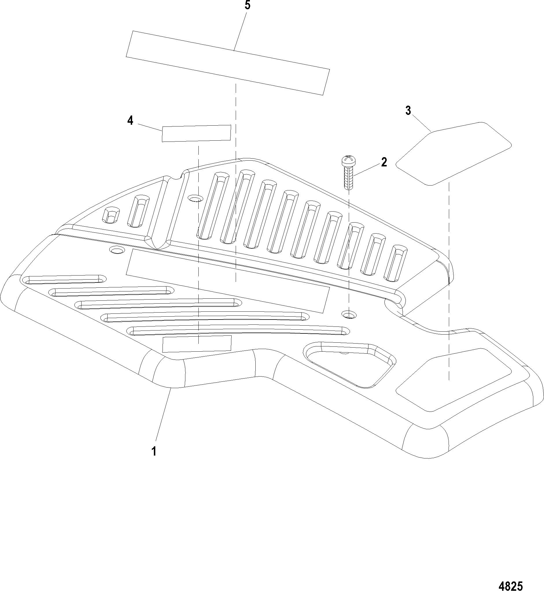 Каталог запчастей MERCRUISER остальные 496 MAG (Base Model