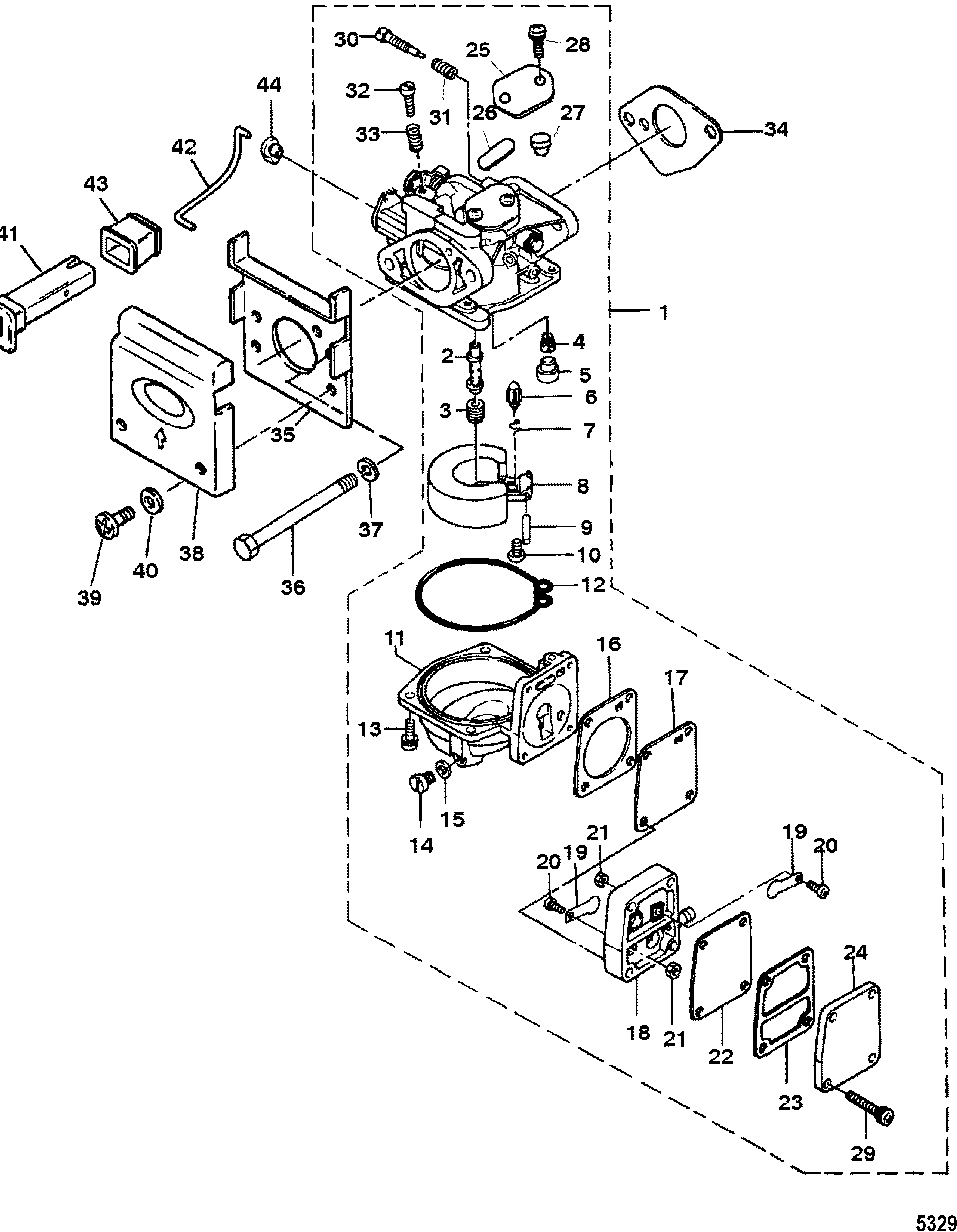 Carburetor: 30jet 40hp Mercury Outboard Wiring Diagram At Chusao.net
