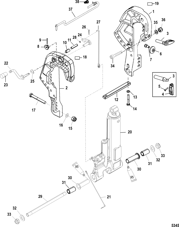 Mercury 2 50 3 Cyl 0p325500