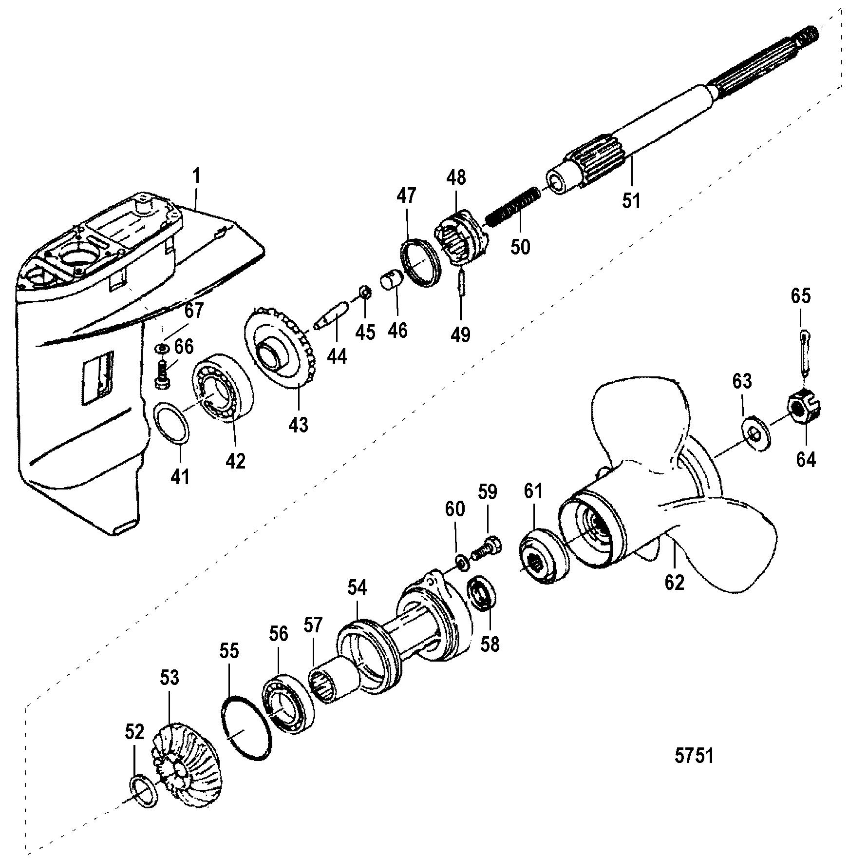 mercury quicksilver fuel tank parts