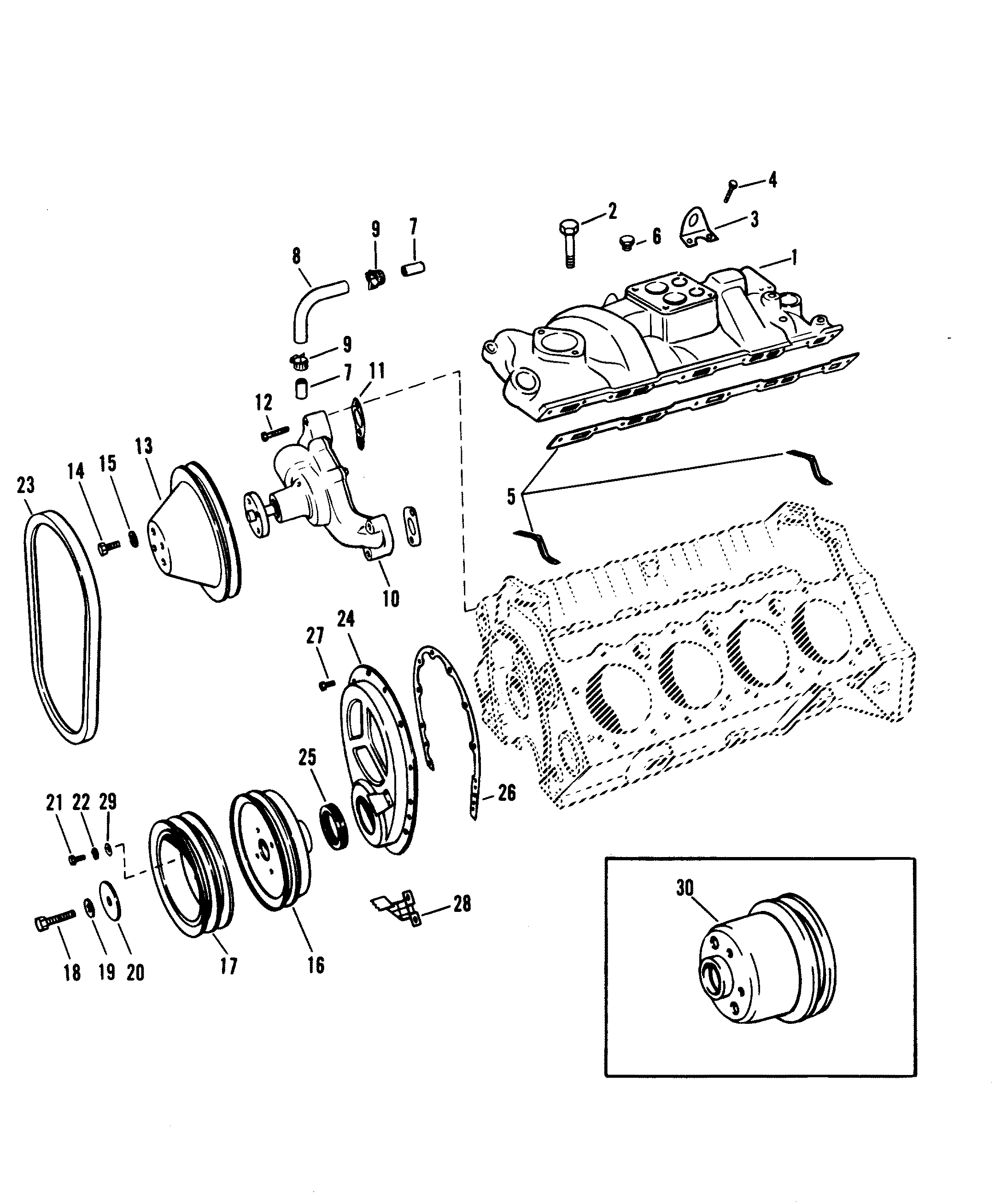 Small Engine Exterior Diagram moreover 00003 likewise 4563 furthermore 400667411851 besides 331156411405. on carburetor adapter plates