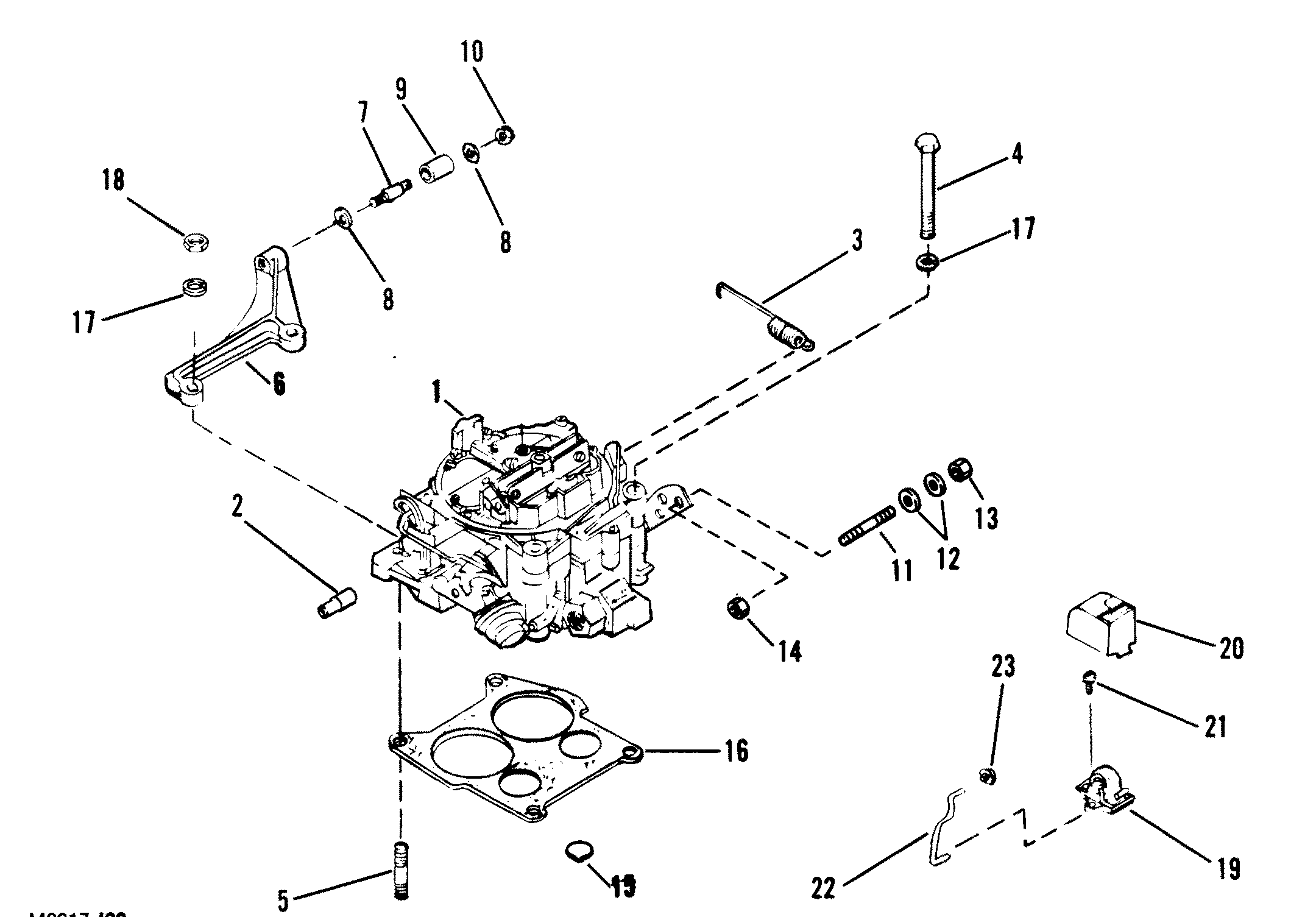 mercruiser wiring harness adapter with 5284 on Marine Engine Wiring Harness furthermore 5284 further Rs232 Db9 To Rj11 Wiring Diagram in addition Tbi 350 Chevy Engine Sensor Locations as well Replacement Kits For Thunderbolt Iv Ignition Control Module.