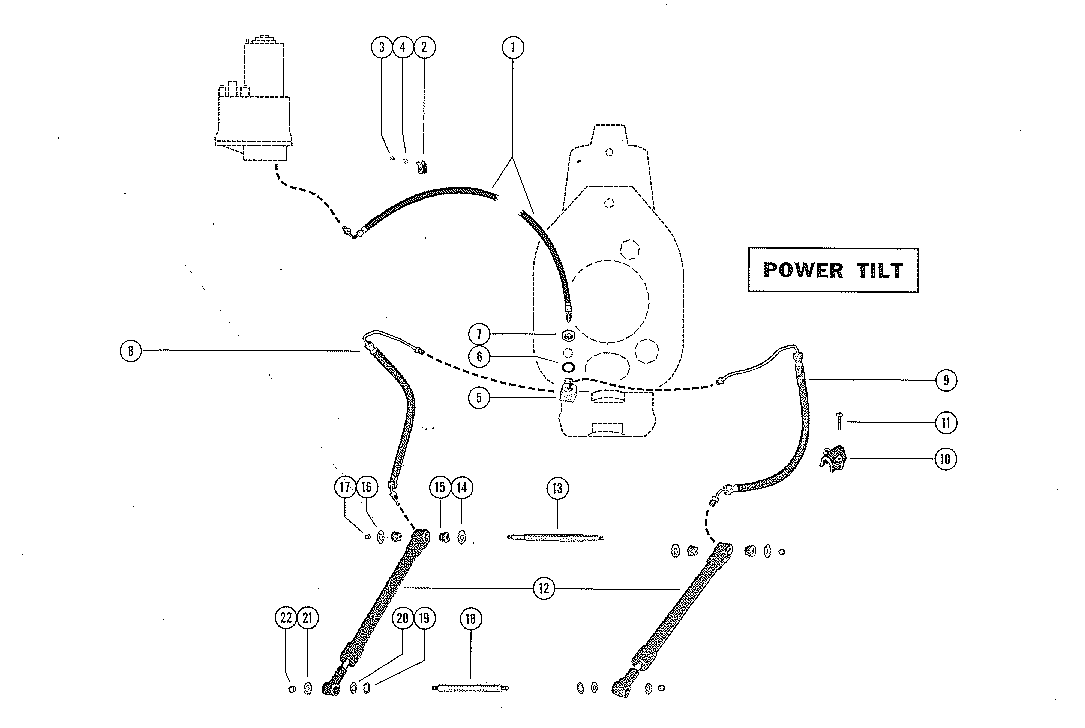 1967 mercruiser gimbal parts diagram  harness  auto wiring