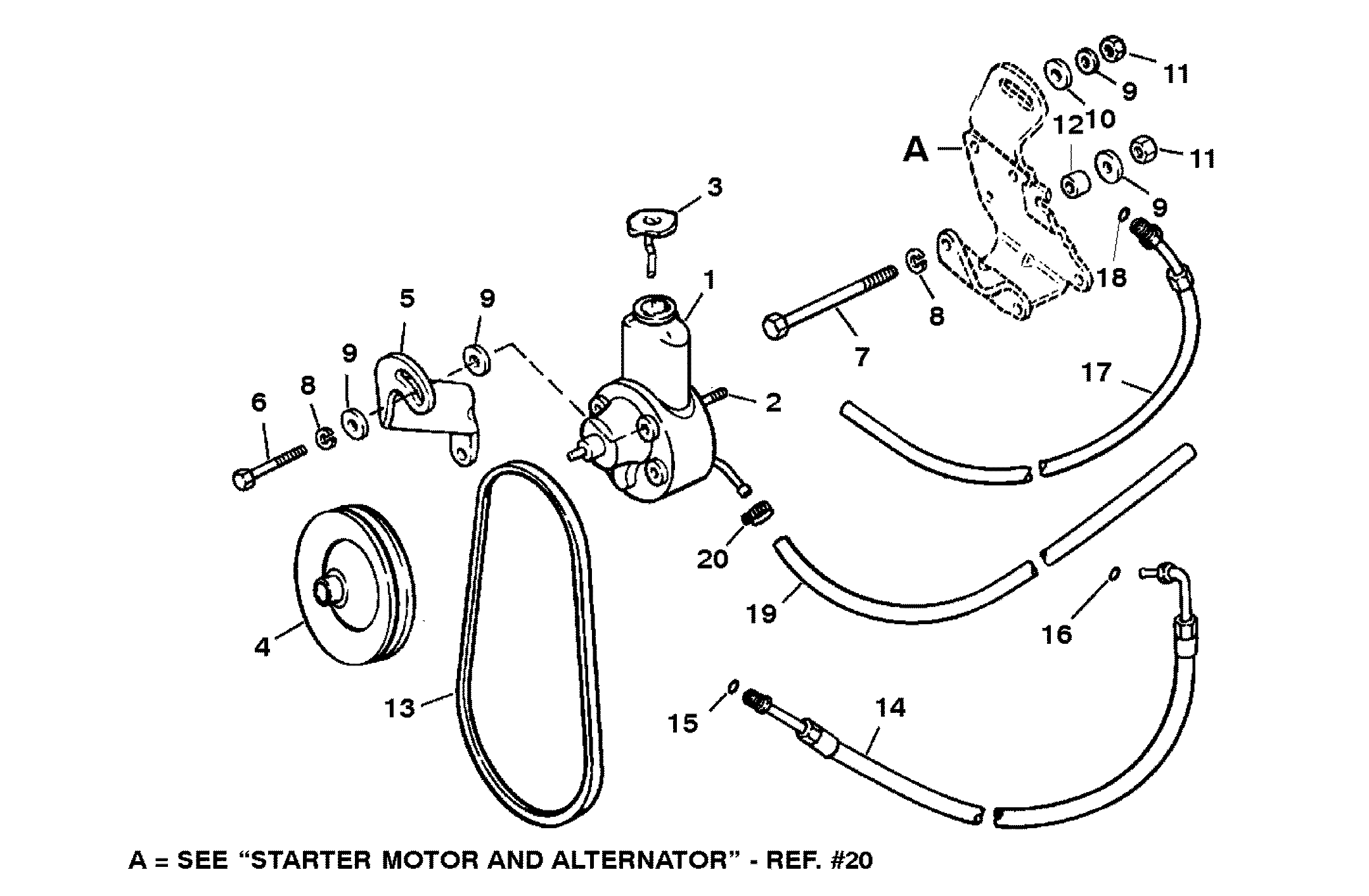 5192048 19721978 Starter Motor And Alternator Diagram And Parts
