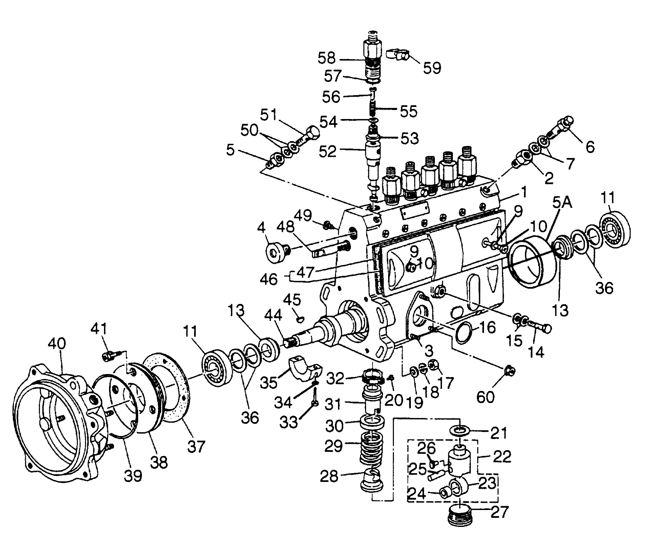 p7100 injection pump diagram