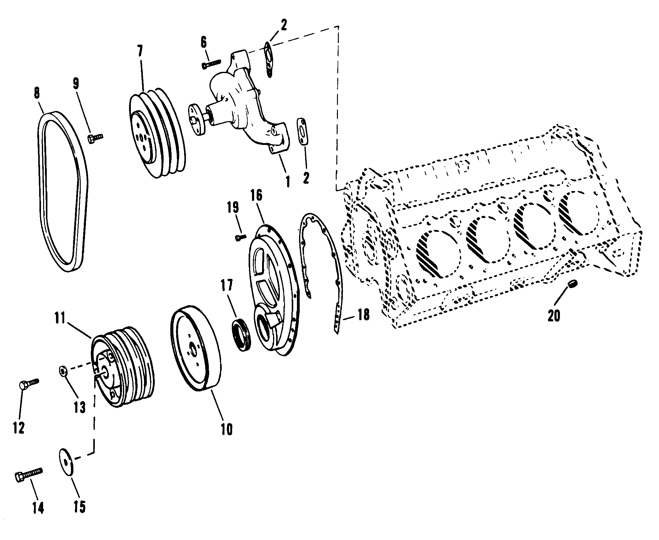 898 mercruiser parts diagram