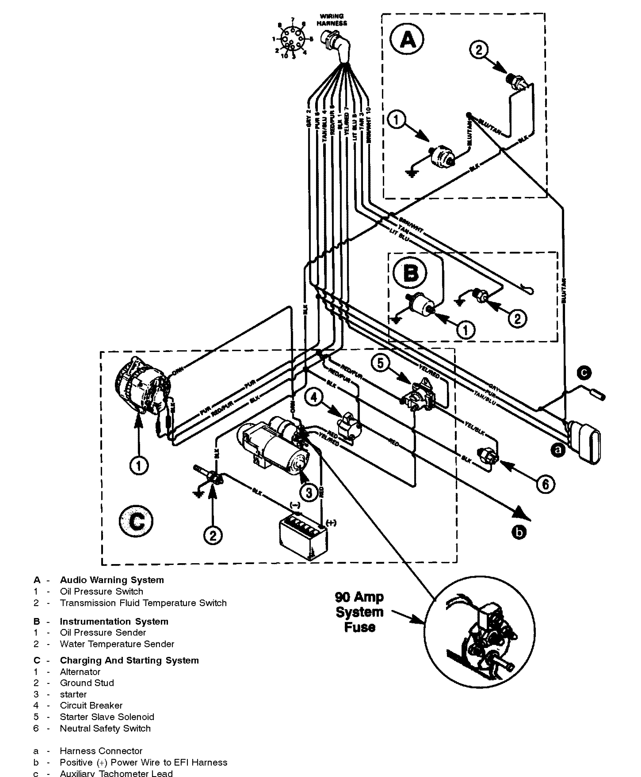 3 0 mercruiser electrical system wiring diagrams