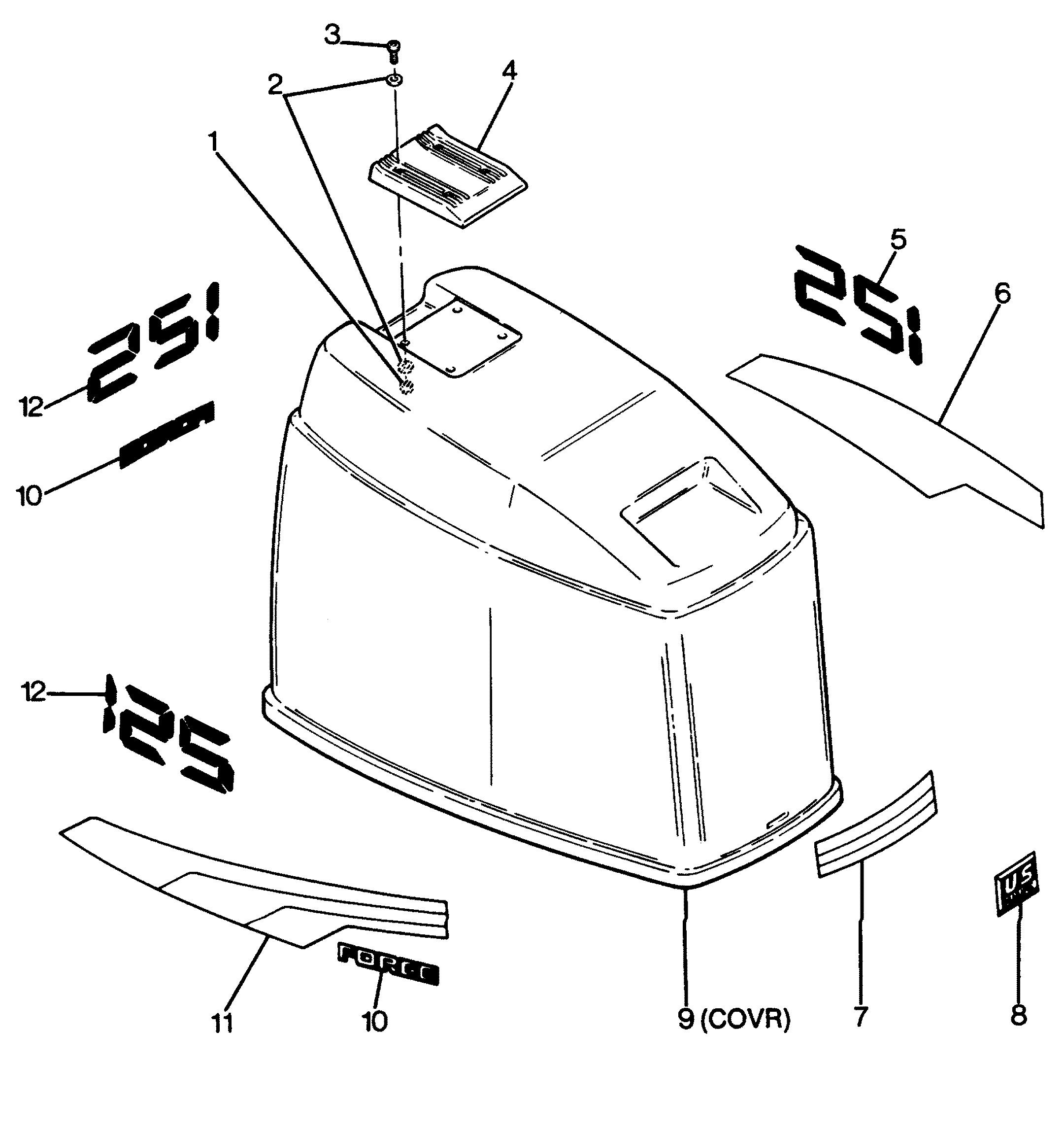 4320 on 1988 Bayliner Parts Catalog