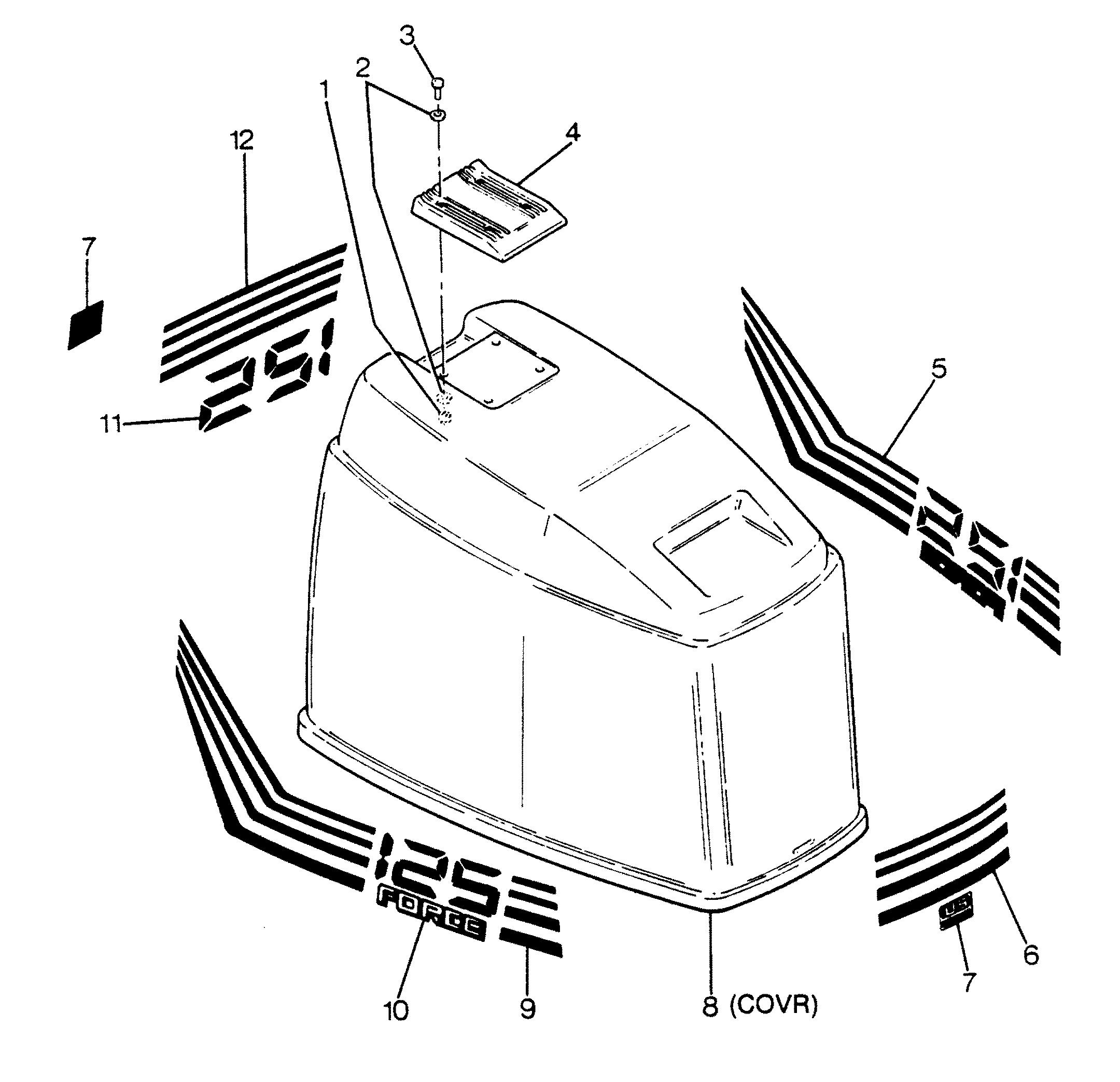 4310 on 1988 Bayliner Parts Catalog