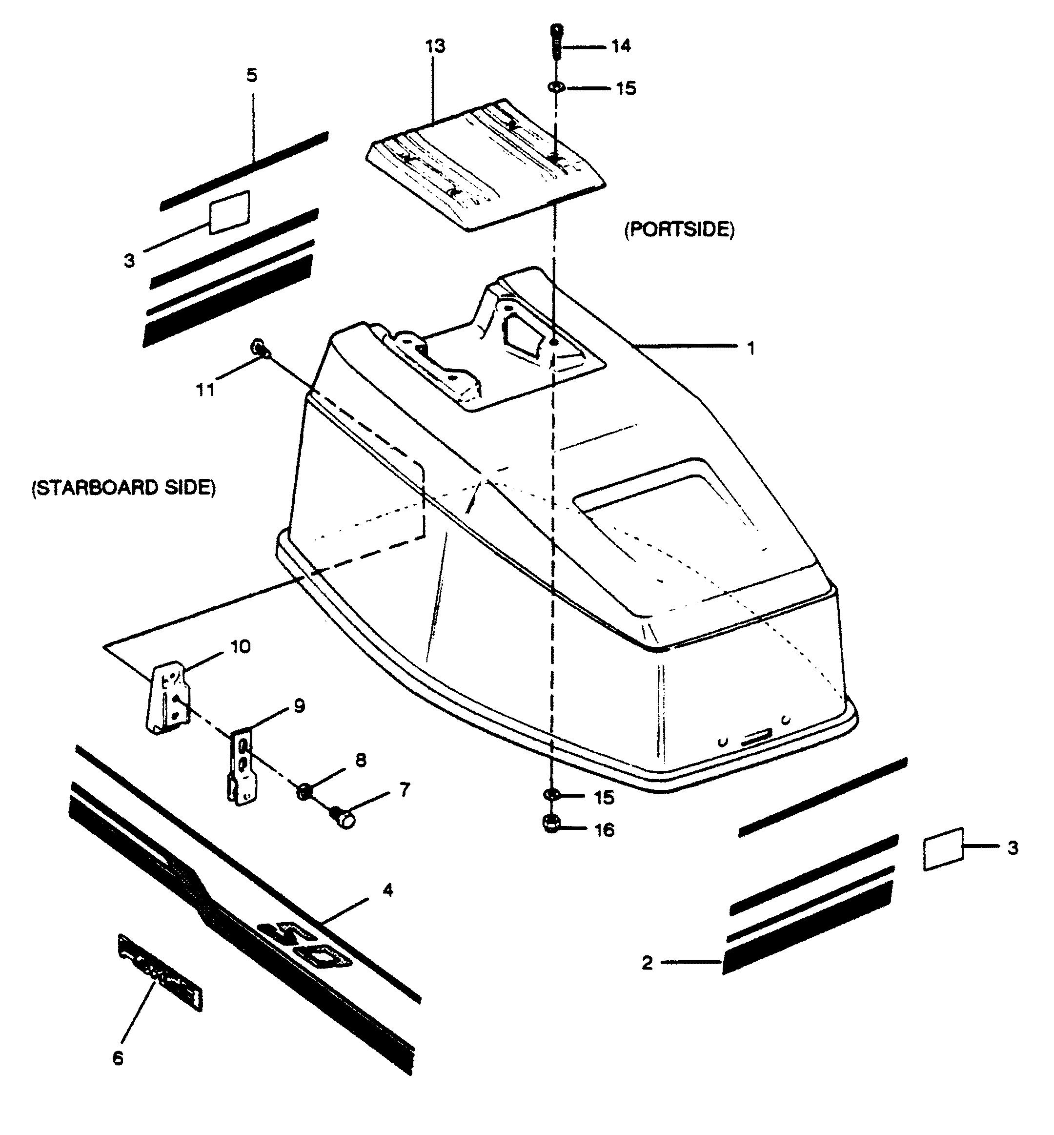 2115 on 1988 Bayliner Parts Catalog