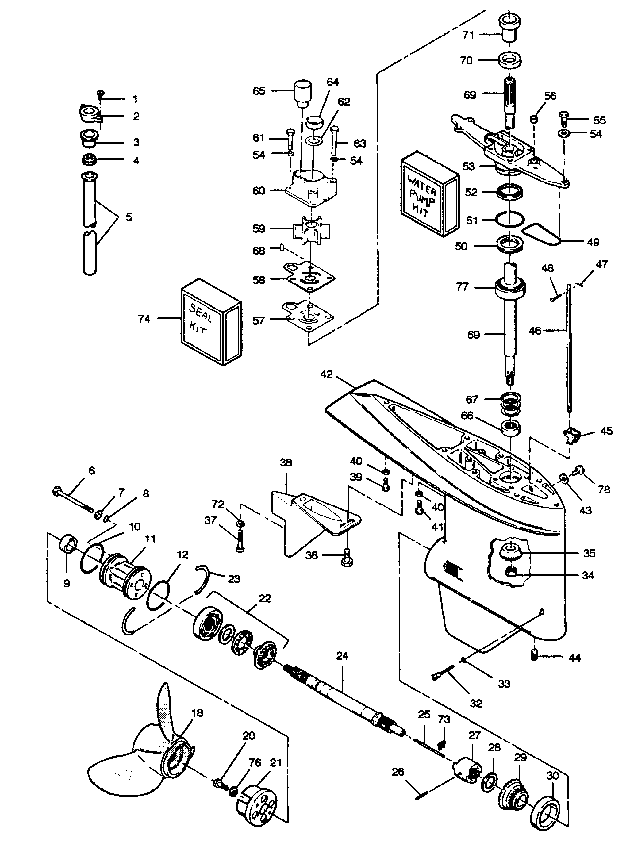 1996 Mercruiser Starter Wiring Diagram Schematics Diagrams Volvo Penta Boat For 3 0 Engine Key Switch 57