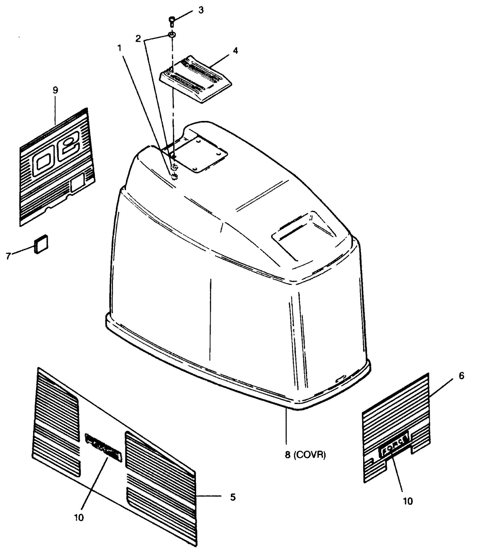 Force 90 H P 1991 908f91a