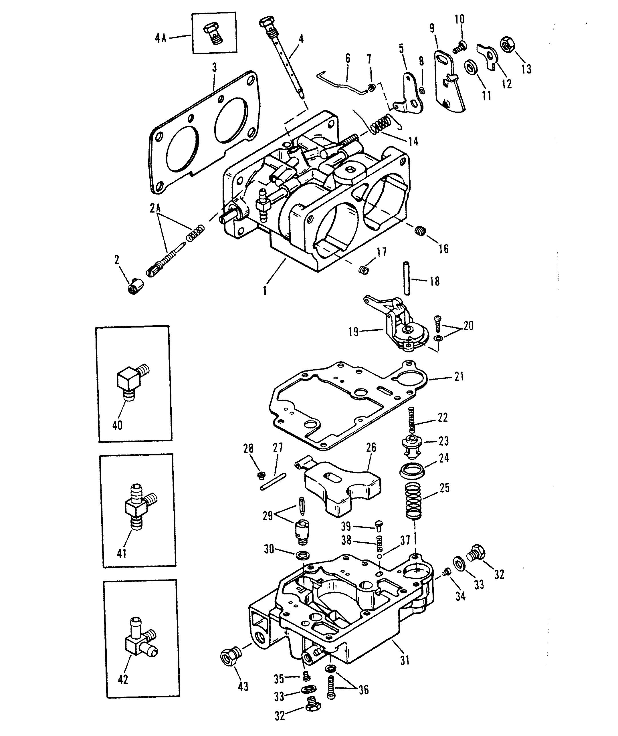 Race Outboard Merc Mar Xr2 Magnum 0c276430 Thru Wiring Mercury Diagram Harness 150 Carburetor Assembly