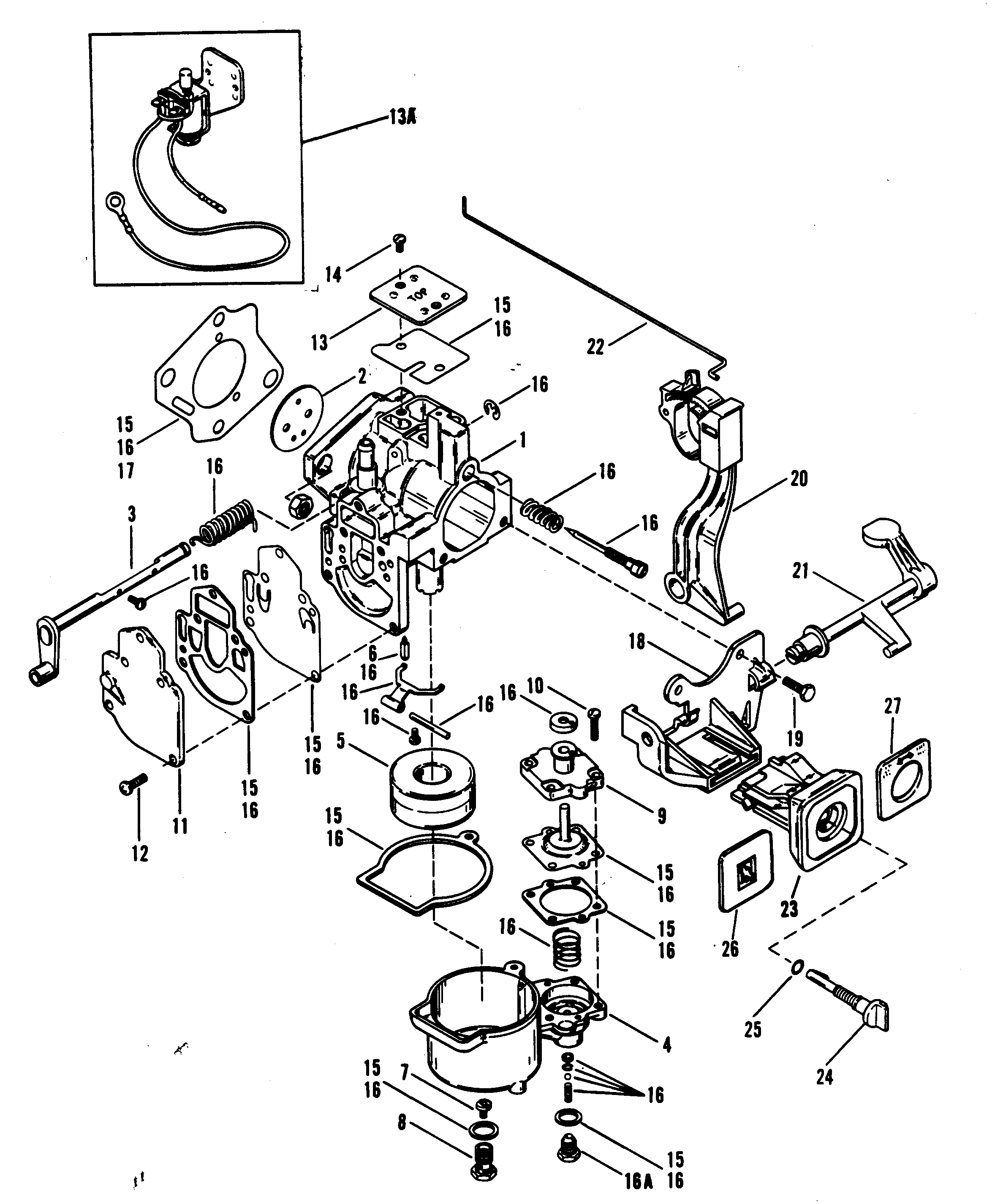 Carburetor Merc 25 Mariner: 30jet 40hp Mercury Outboard Wiring Diagram At Chusao.net